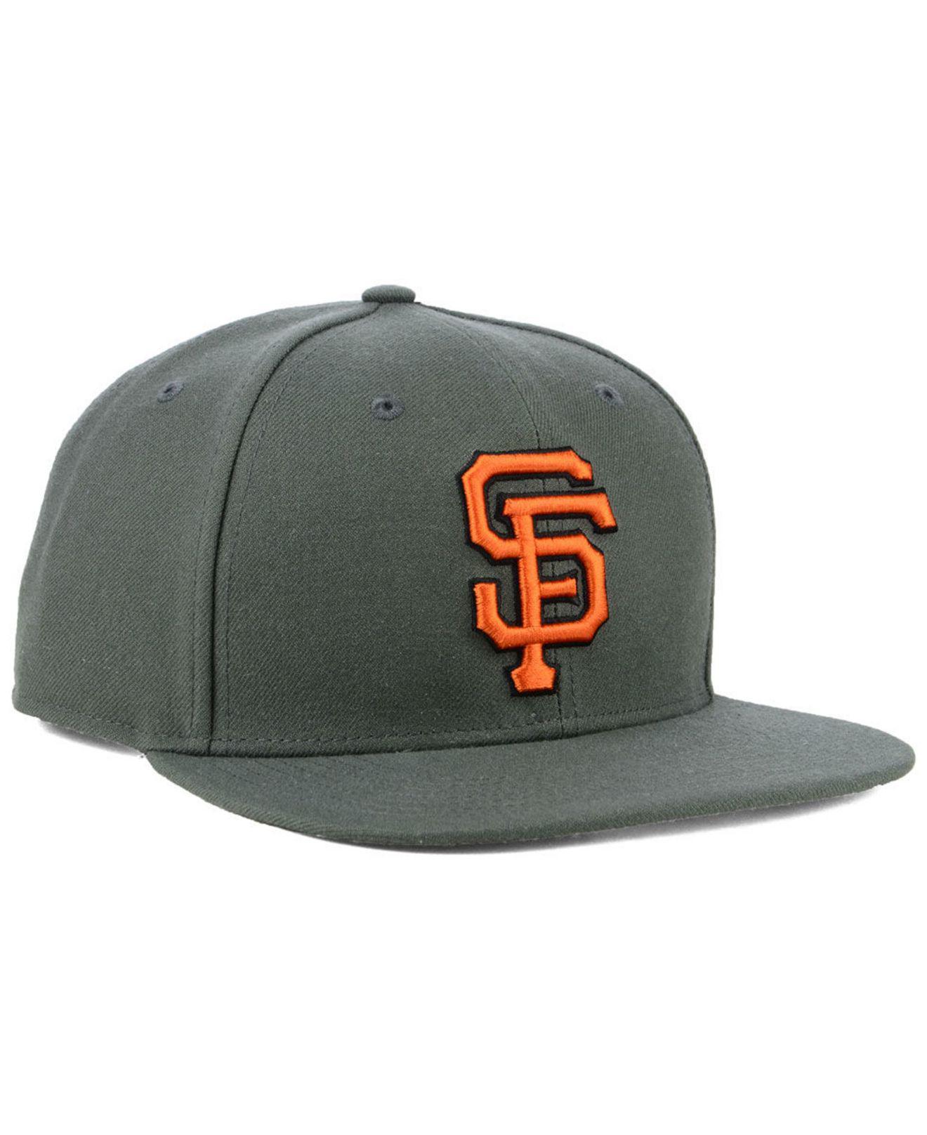 a7d4e115443 47 Brand - Multicolor San Francisco Giants Autumn Snapback Cap for Men -  Lyst. View fullscreen