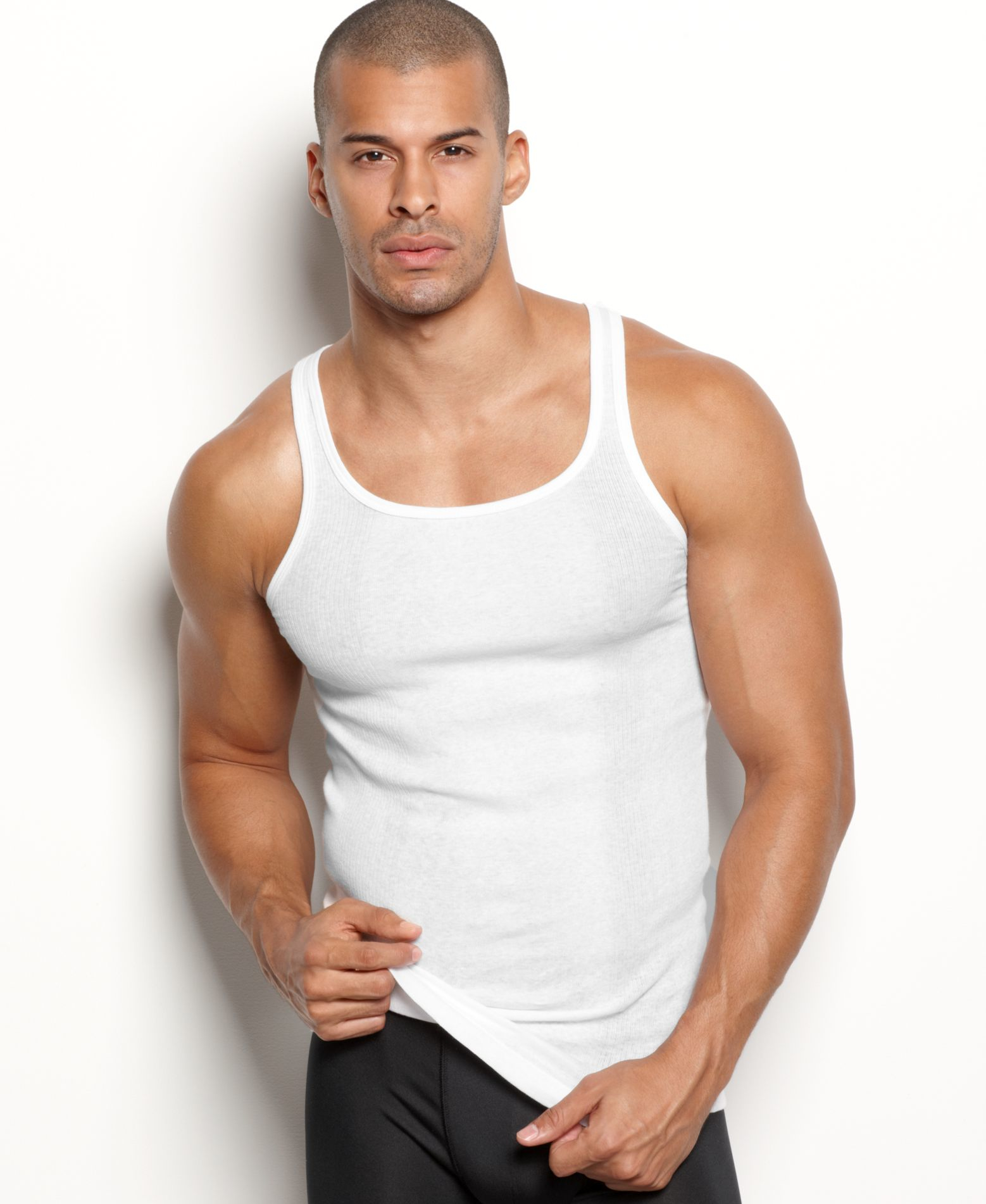 2xist 2(x)ist Men's Underwear, Essentials Tagless Tank 3 ...