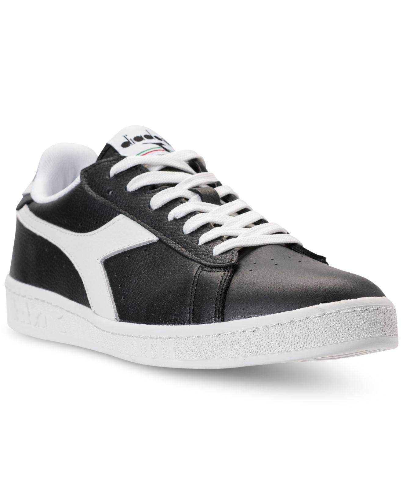 e9dae387a8 Lyst - Diadora Men's Game L Low Waxed Casual Sneakers From Finish ...
