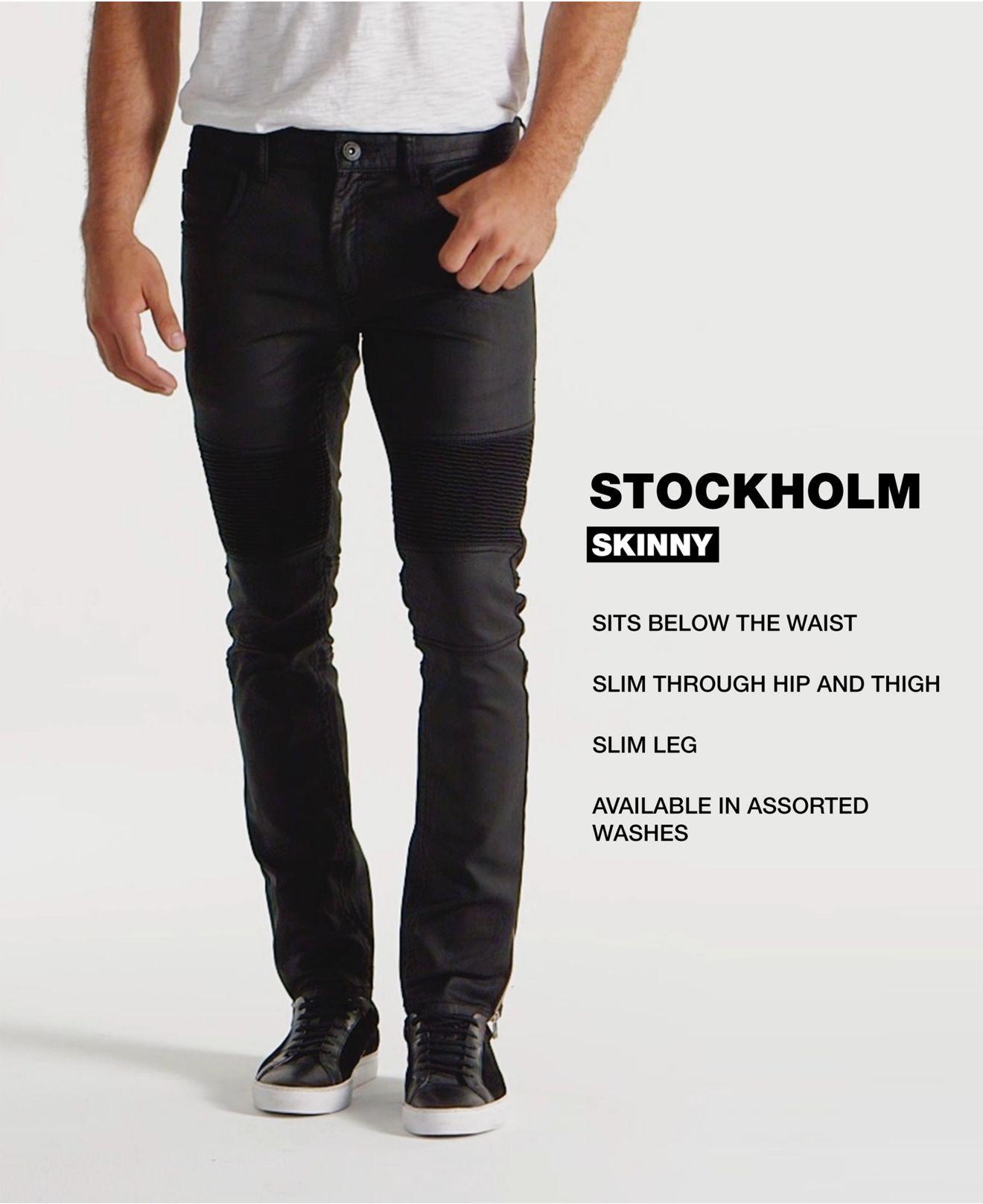 c8f6da4dd409 INC International Concepts - Black Men s Moto Skinny Jeans for Men - Lyst.  View fullscreen