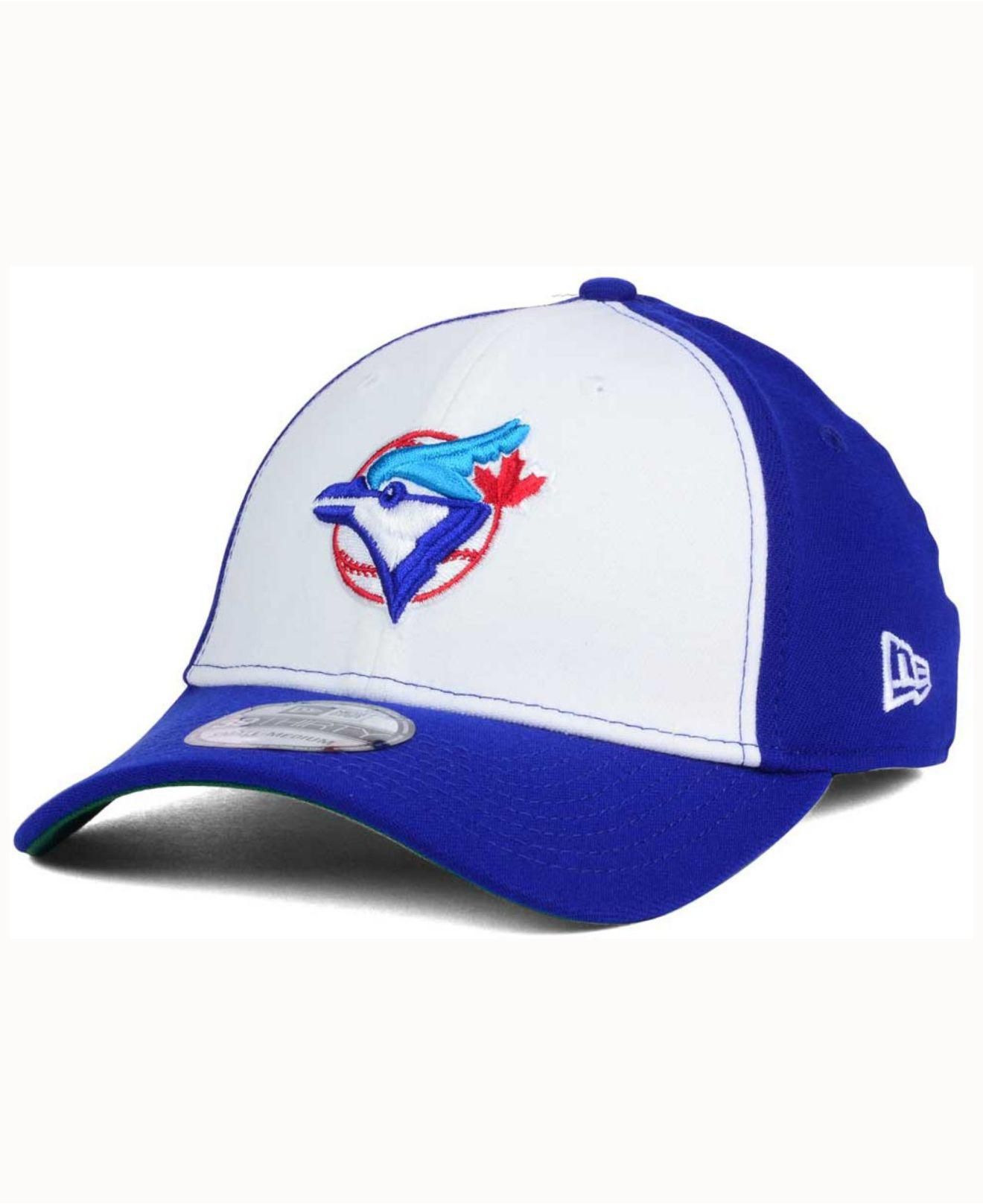 b71ec4efba1 Lyst - Ktz Toronto Blue Jays Coop 39thirty Cap in Blue for Men