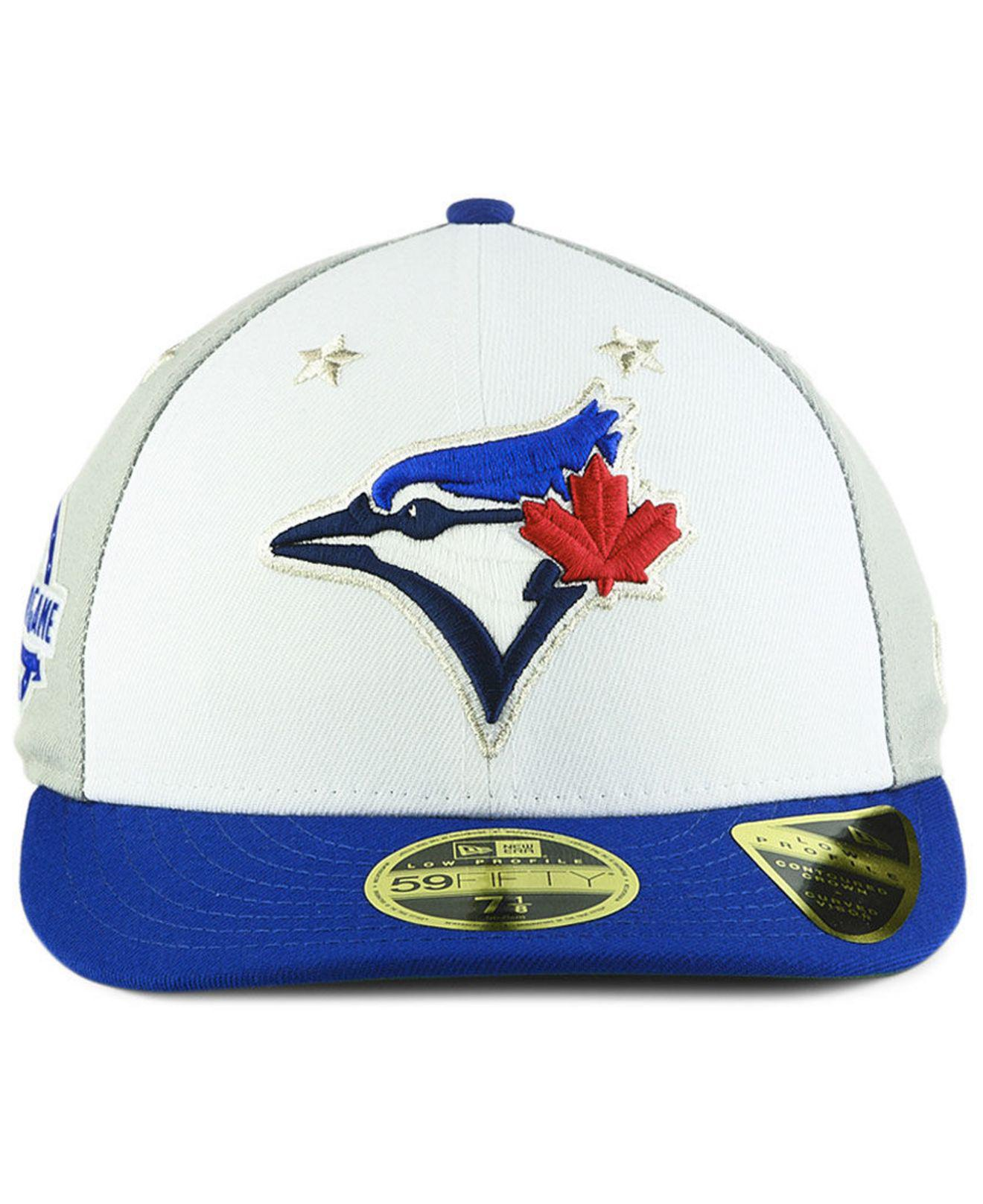 153bb7043d3 Lyst - KTZ Toronto Blue Jays All Star Game Patch Low Profile 59fifty Fitted  Cap 2018 in Blue for Men