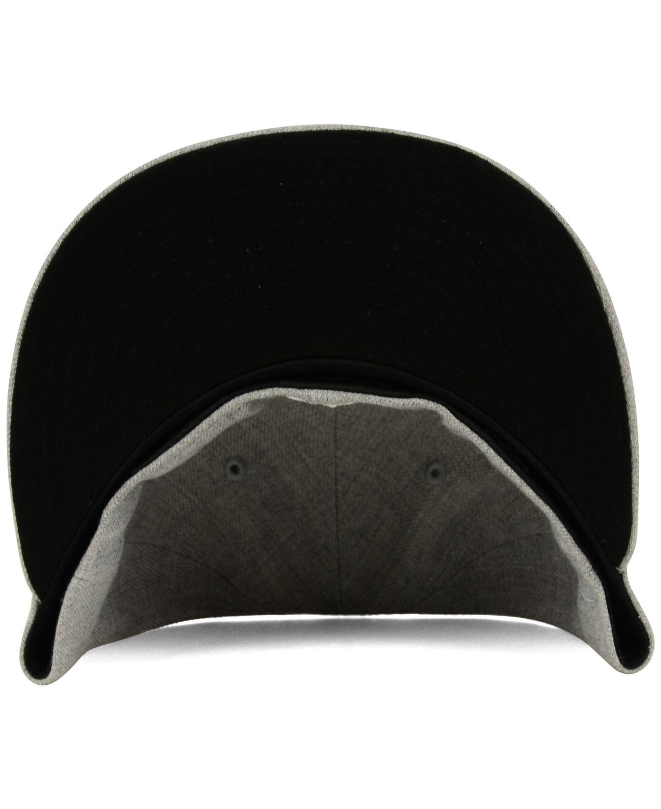... New England Patriots Heather Black White 59fifty Cap for Men - Lyst.  View fullscreen 0a6702a70
