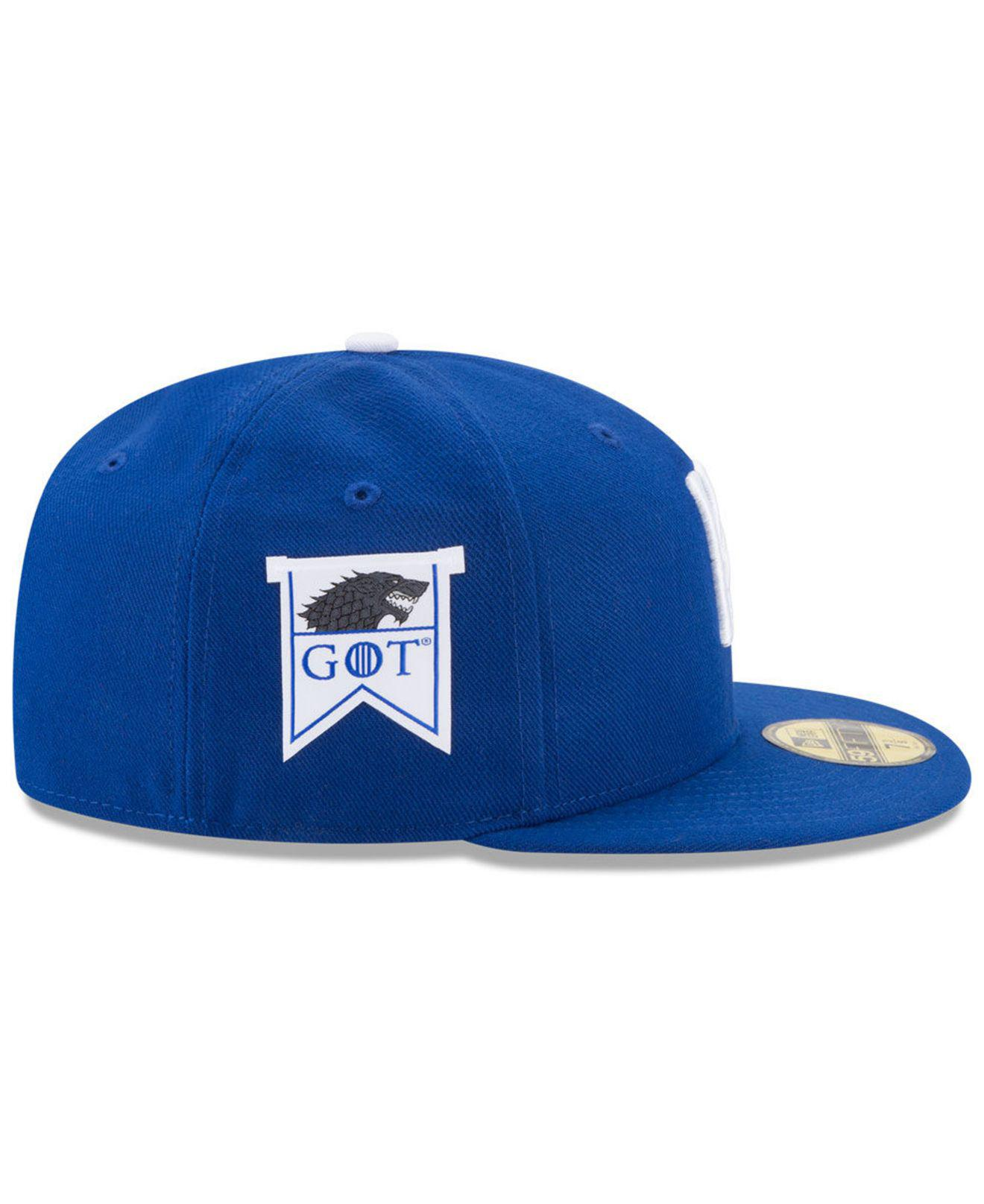 wholesale dealer c2de5 920ed Lyst - KTZ Game Of Thrones 59fifty Cap in Blue for Men