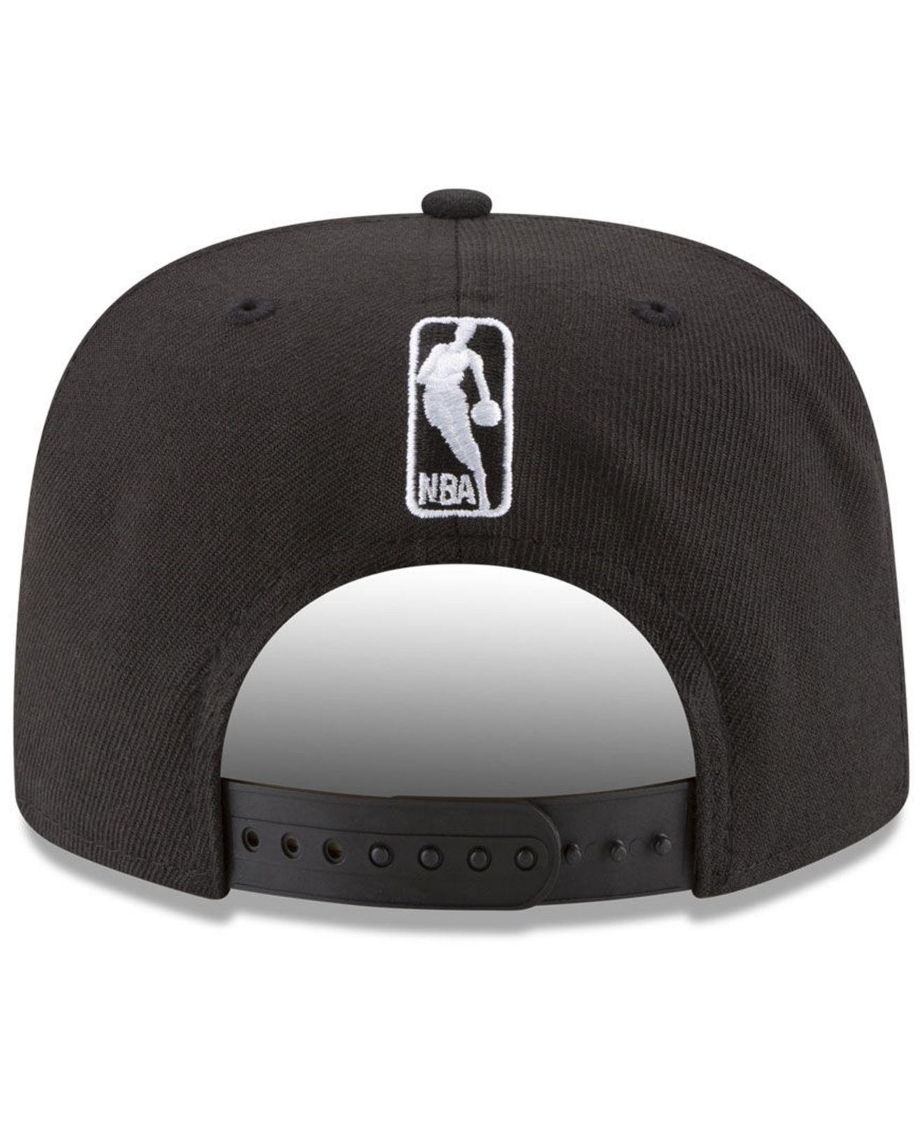 timeless design 249a9 ddd79 ... Anniversary Patch 9fifty Snapback Cap for Men - Lyst. View fullscreen
