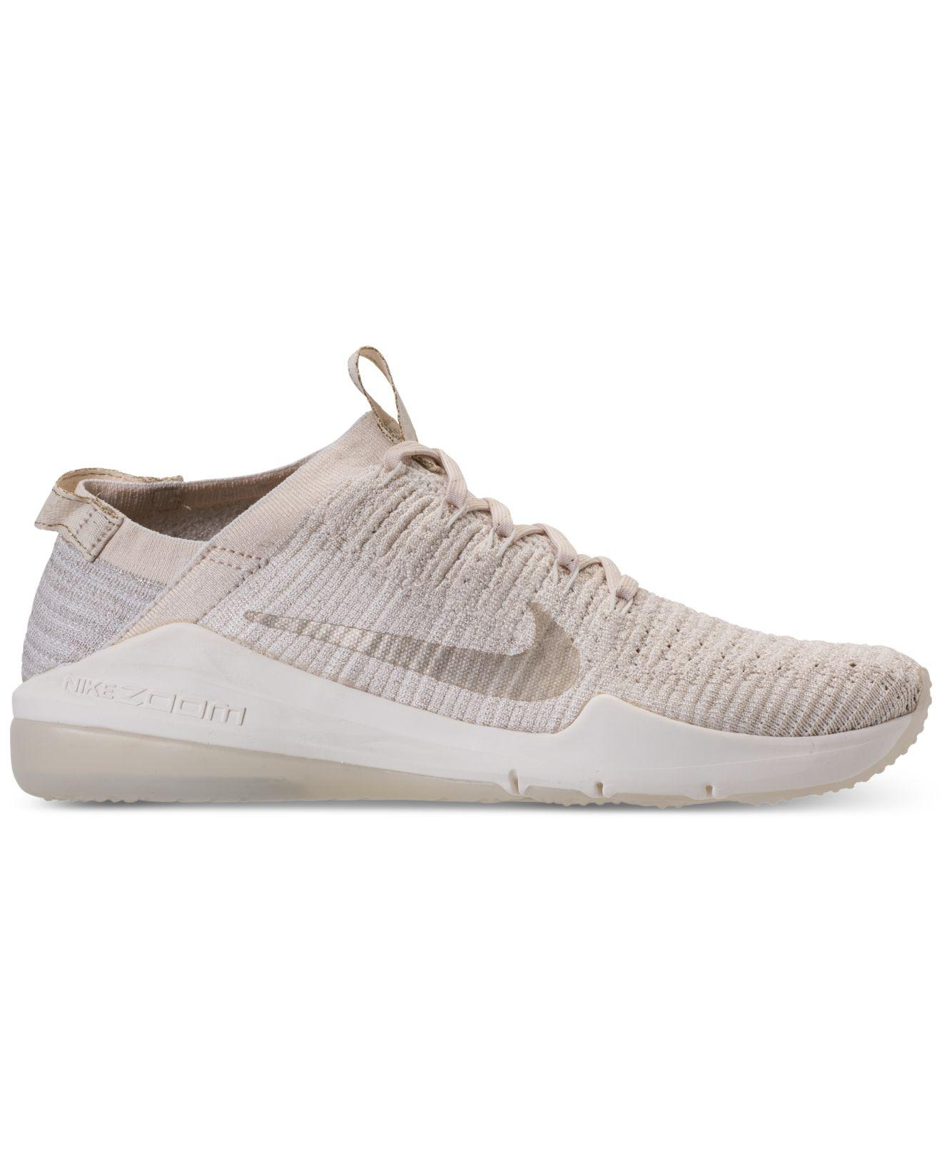 5662128de370f6 Lyst - Nike Air Zoom Fearless Flyknit 2 Champagne Running Sneakers ...