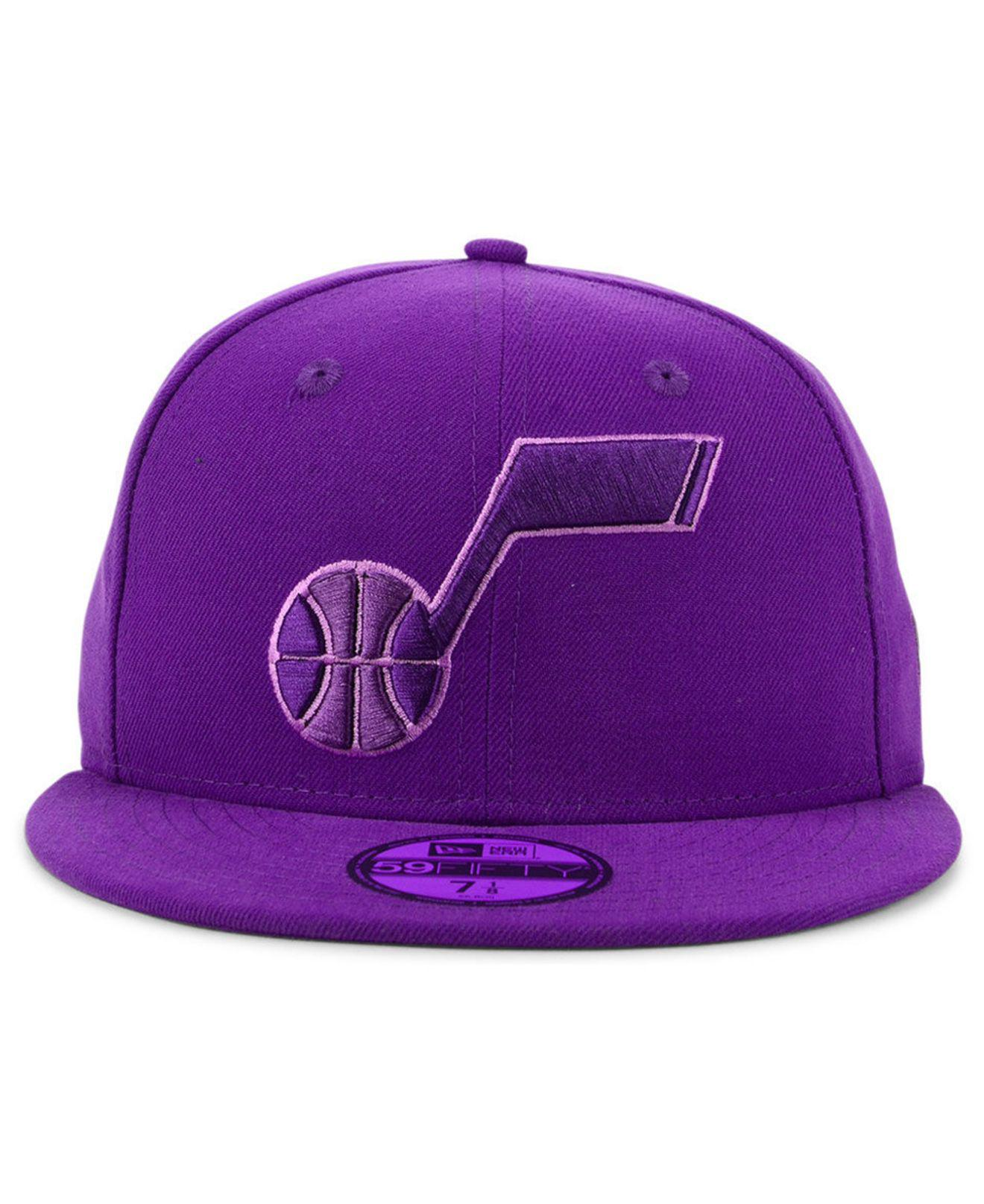 size 40 2db59 d269a Lyst - KTZ Utah Jazz Color Prism Pack 59fifty Fitted Cap in Purple for Men