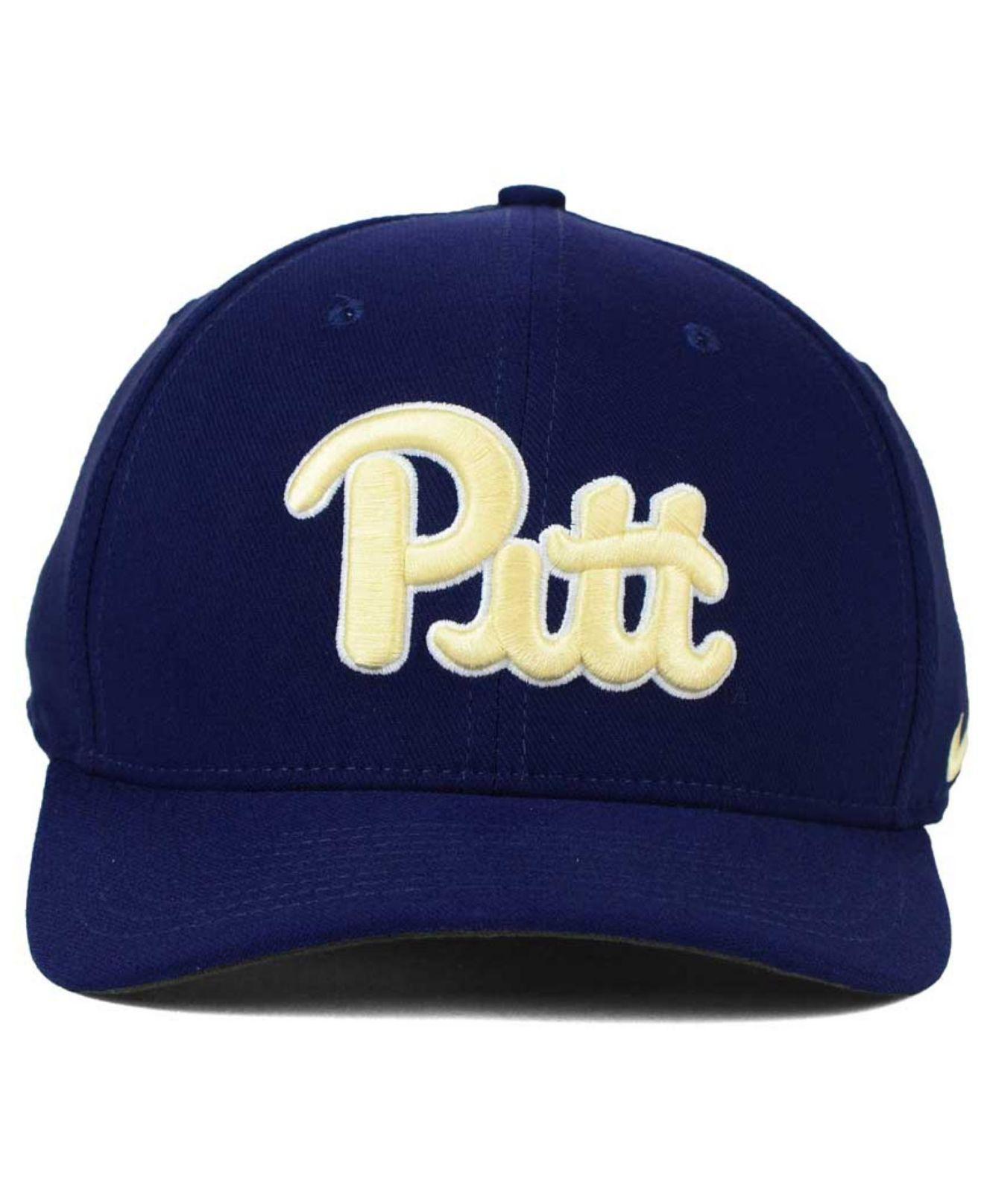 ... innovative design 4c5f1 a4c92 Lyst - Nike Pittsburgh Panthers Classic  Swoosh Cap in Blue f ... 478b791f375