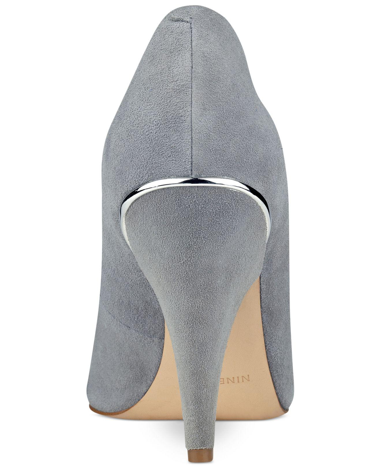 b525588f357 Lyst - Nine West Whistles Pumps in Gray