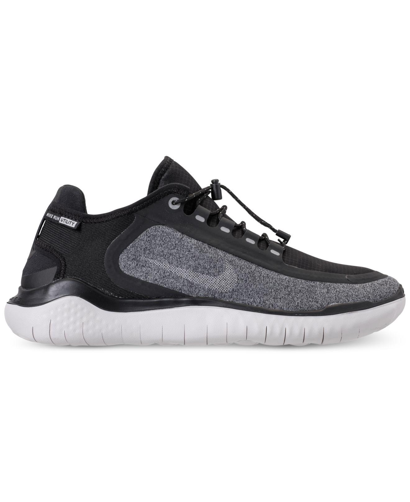 87246f87550 Nike - Black Free Rn 2018 Shield Running Sneakers From Finish Line for Men  - Lyst. View fullscreen
