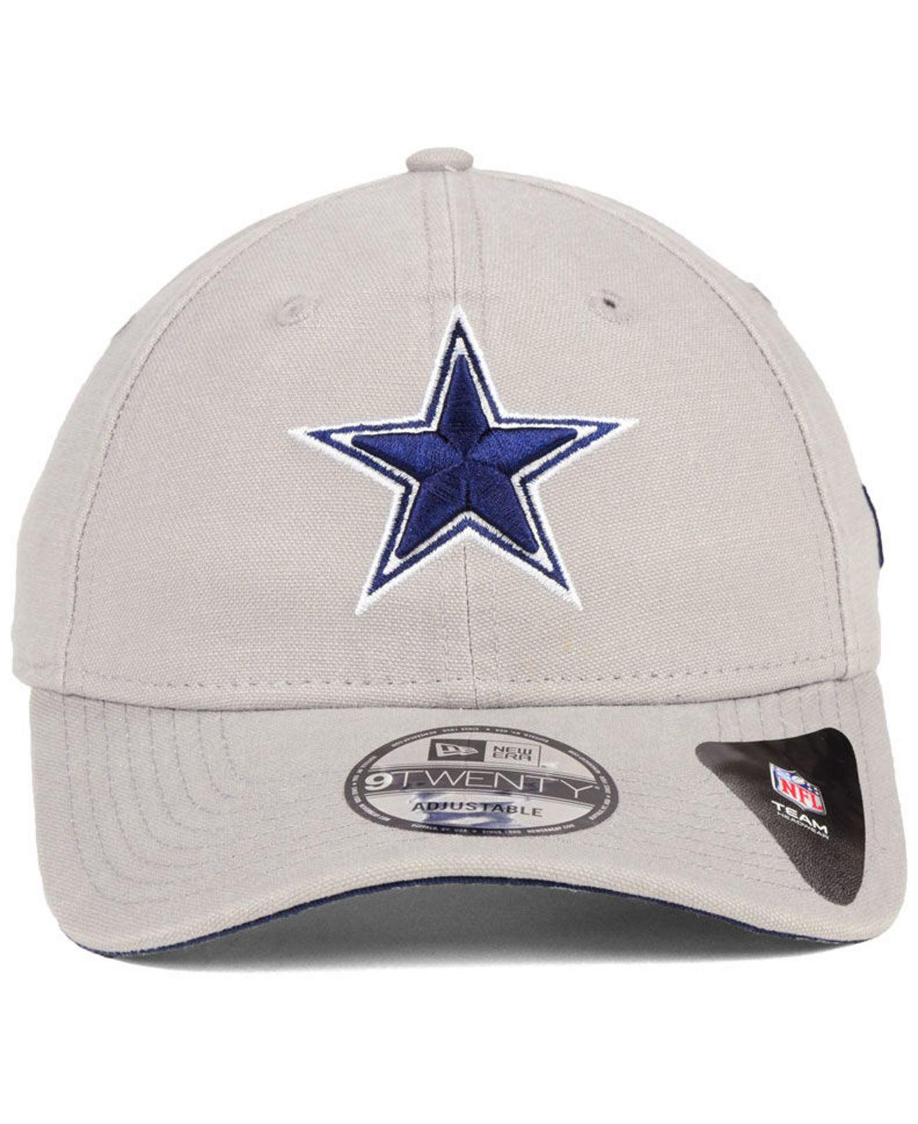 bb5ad421b548b1 KTZ Dallas Cowboys Core Shore 9twenty Cap in Gray for Men - Lyst