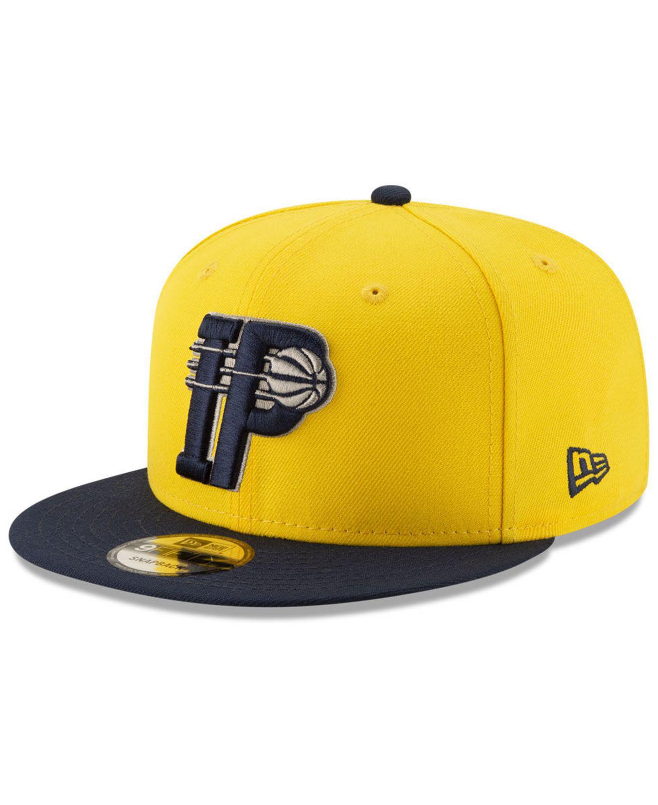 the best attitude cbc32 75bef ... best ktz. mens yellow indiana pacers light city combo 9fifty snapback  cap f5c92 f6d5b