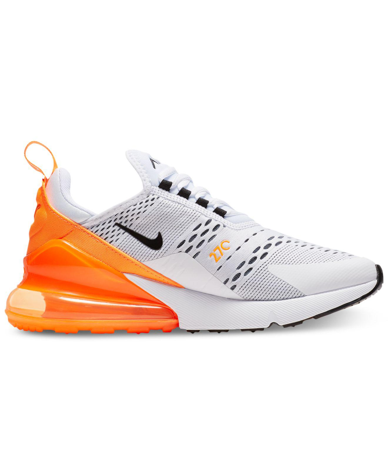 check out 51c7d 2fc1b Nike Air Max 270 Casual Sneakers From Finish Line in White - Lyst