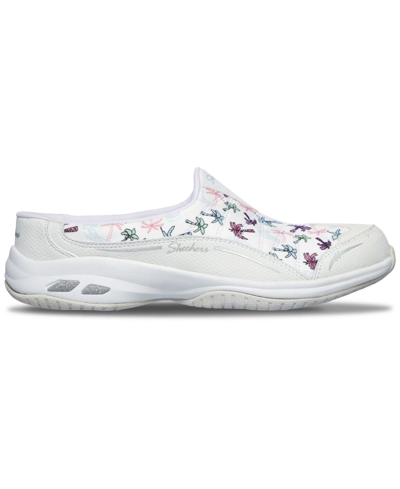 99748447fcfd Lyst - Skechers Relaxed Fit  Commute Time - Palm Tree Holiday Walking  Sneakers From Finish Line in White