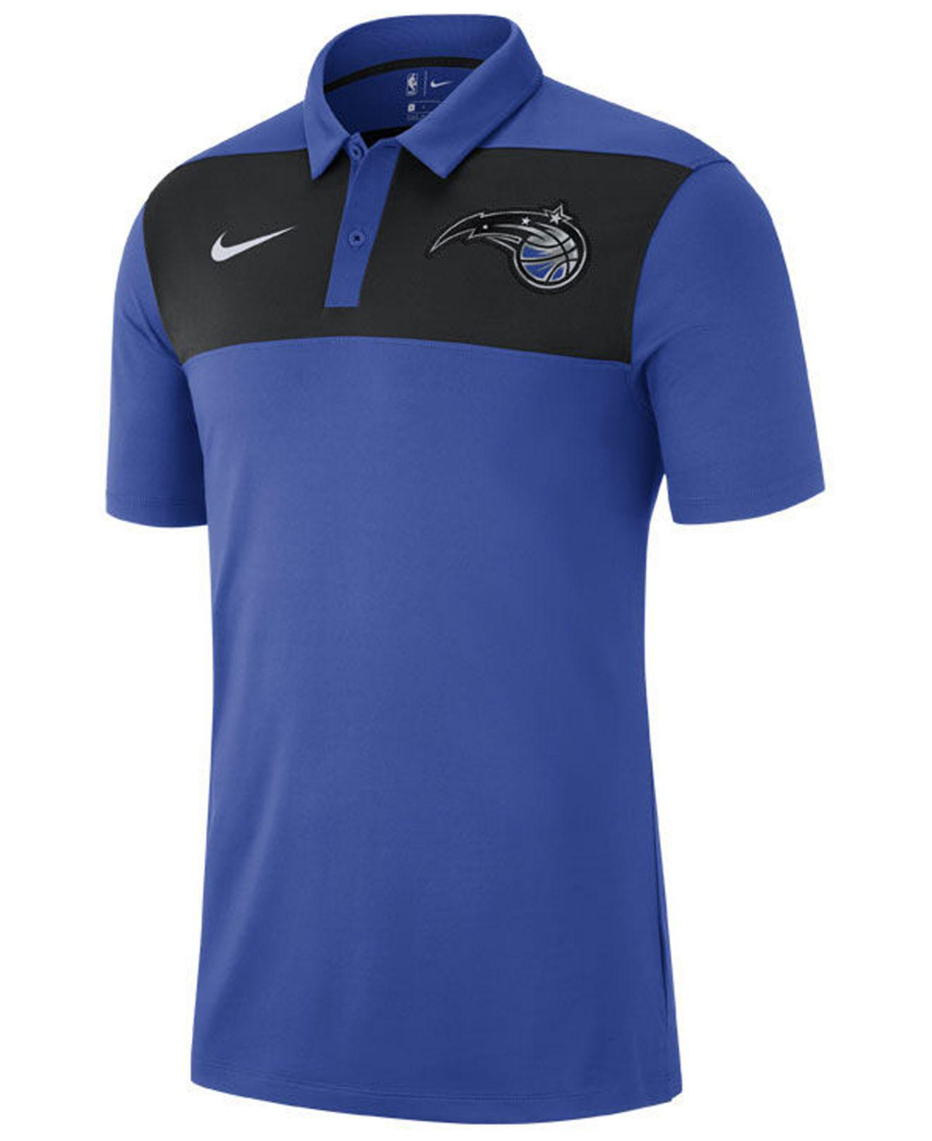 Lyst - Nike Orlando Magic Statement Polo in Blue for Men 1235551d5