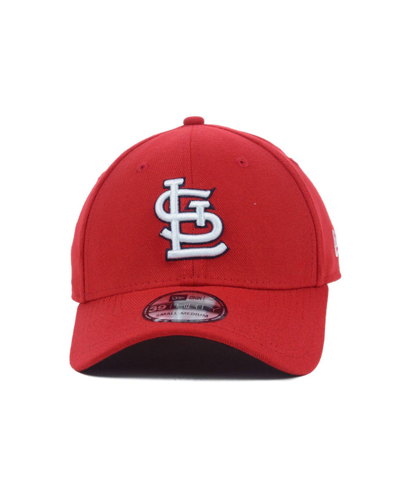 b26850f7053414 ... patty classic 39thirty cap kelly green 0f52b 733df; get lyst ktz st. louis  cardinals mlb team classic 39thirty cap in red for men