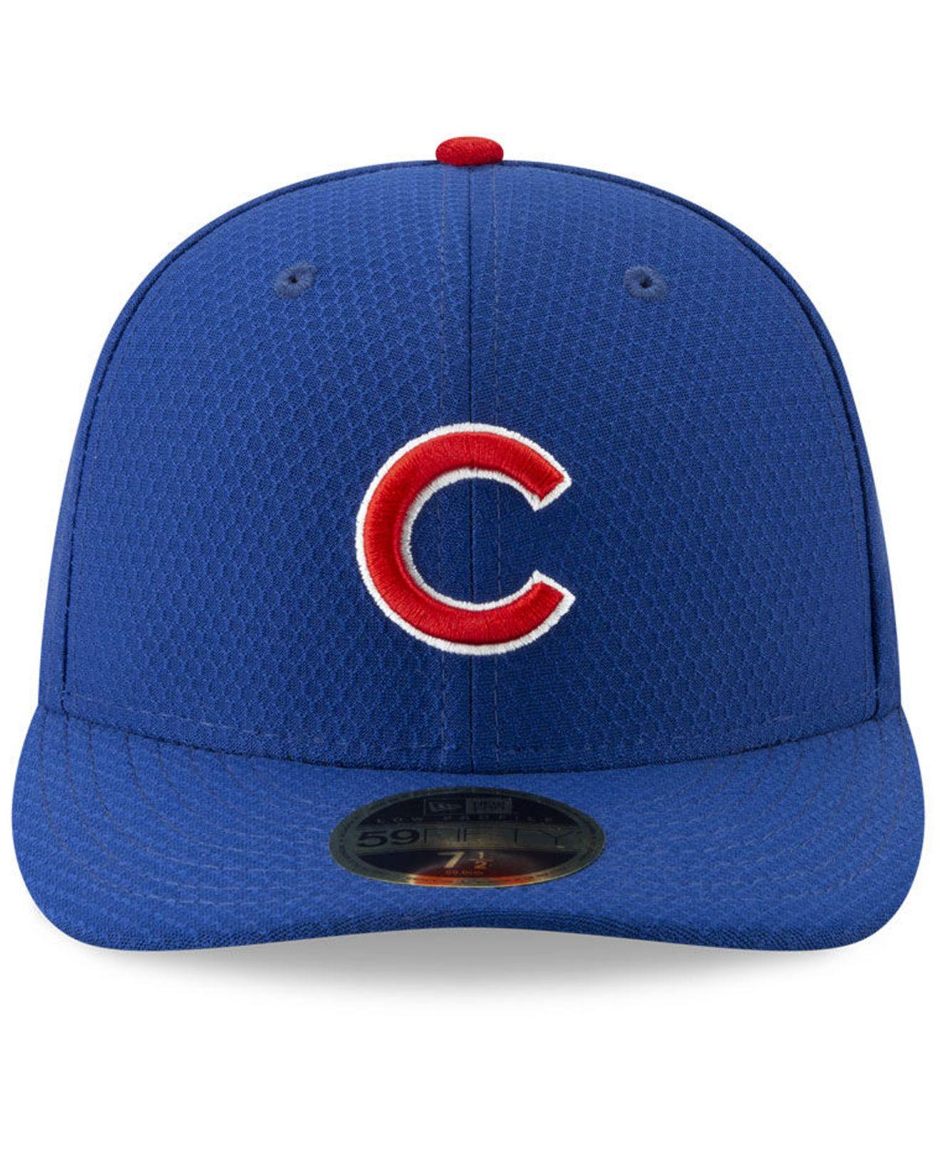 e8f7ef67022e30 Lyst - KTZ Chicago Cubs Spring Training 59fifty-fitted Low Profile Cap in  Blue for Men