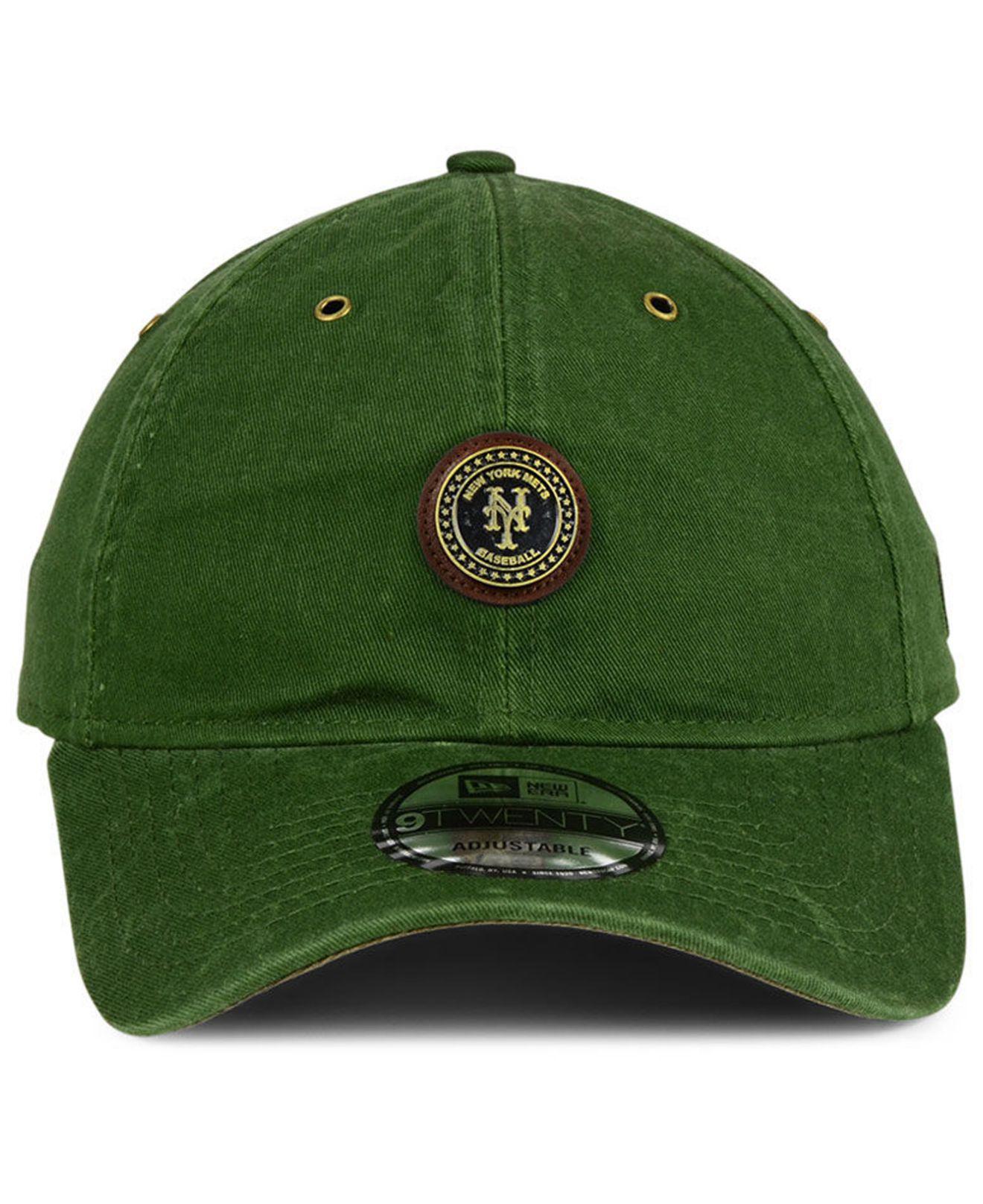 3ded229a3ad switzerland lyst ktz new york mets coin 9twenty cap in green for men 49edd  6852b