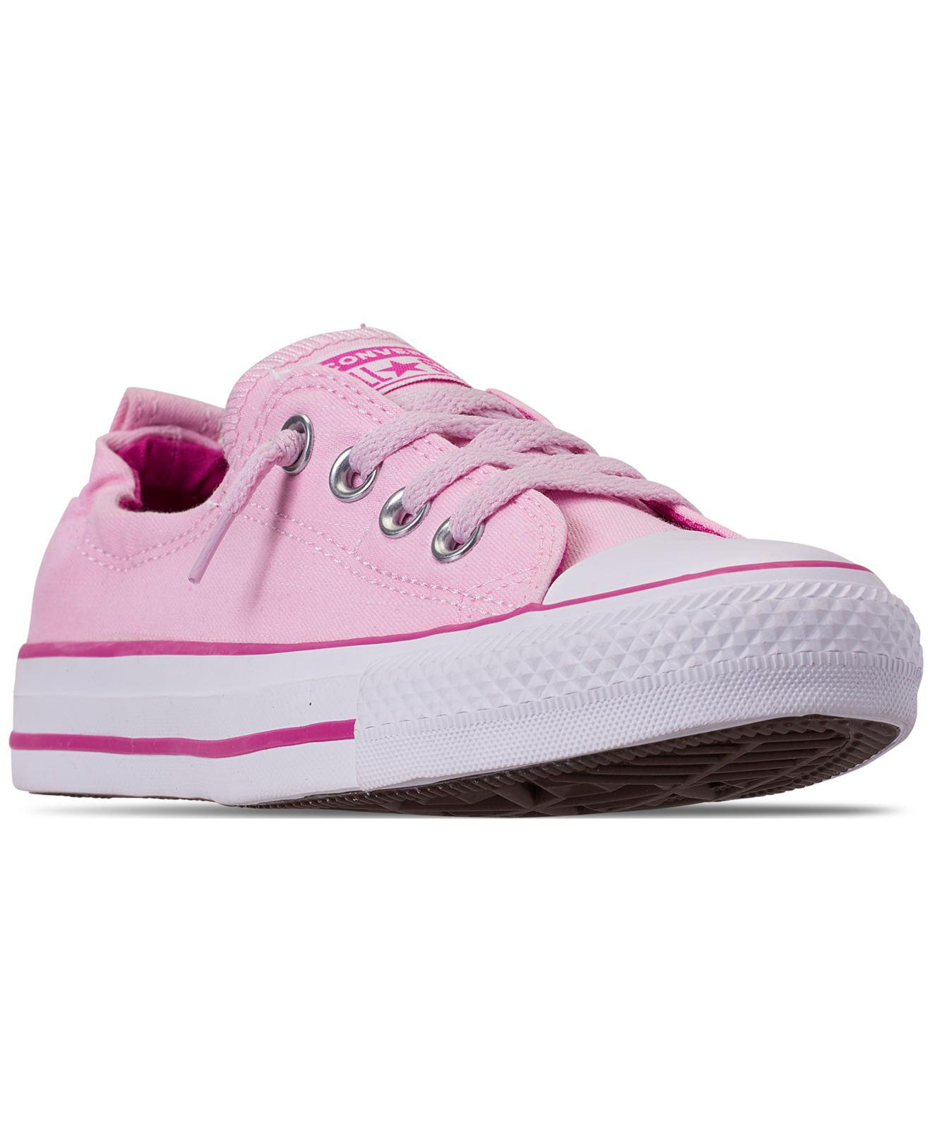 Converse. Pink Chuck Taylor All Star Shoreline Slip-on Sneaker (women) 4416a43db