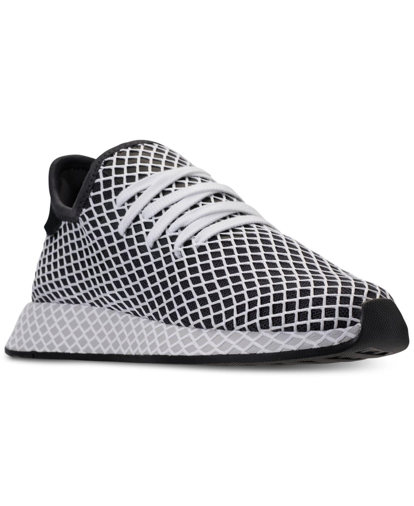 1a395f0361320 Lyst - adidas Deerupt Runner B Side Pack Casual Sneakers From Finish ...