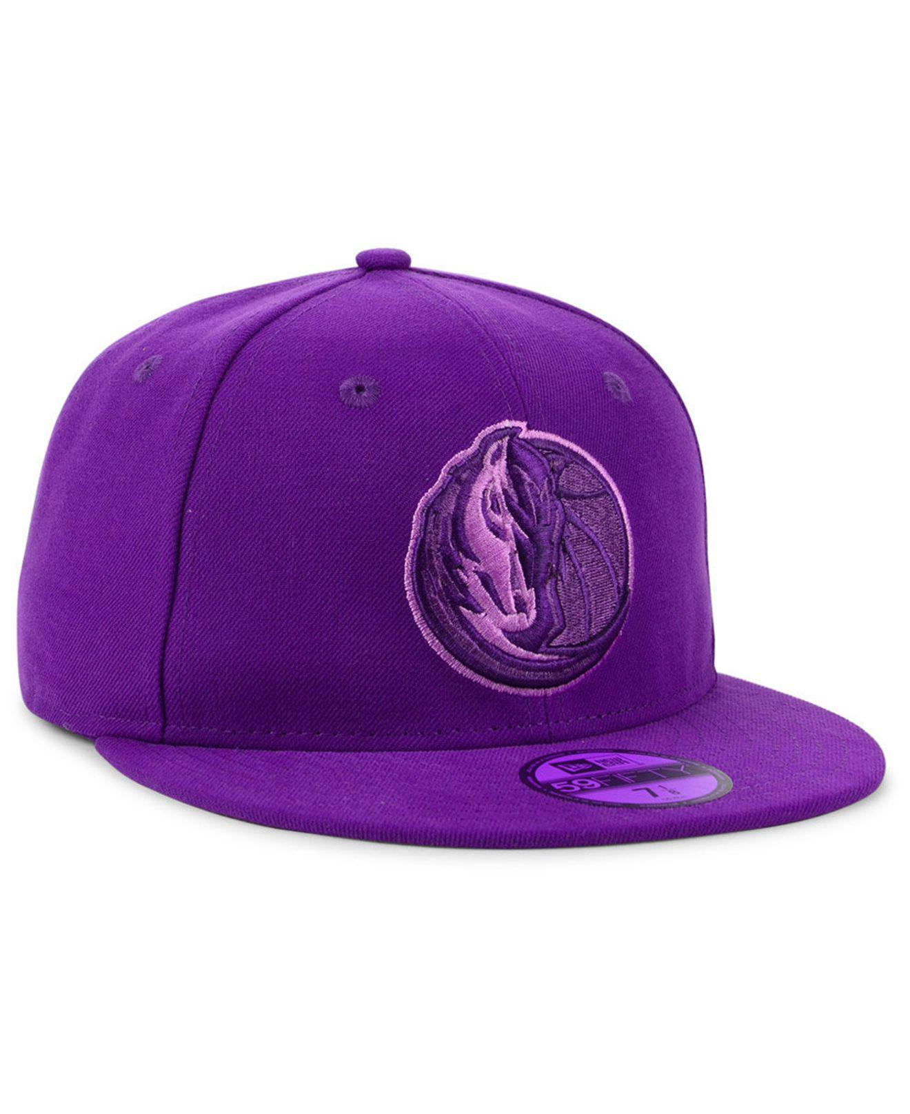 quality design 1b759 aff15 KTZ - Purple Dallas Mavericks Color Prism Pack 59fifty Fitted Cap for Men -  Lyst. View fullscreen