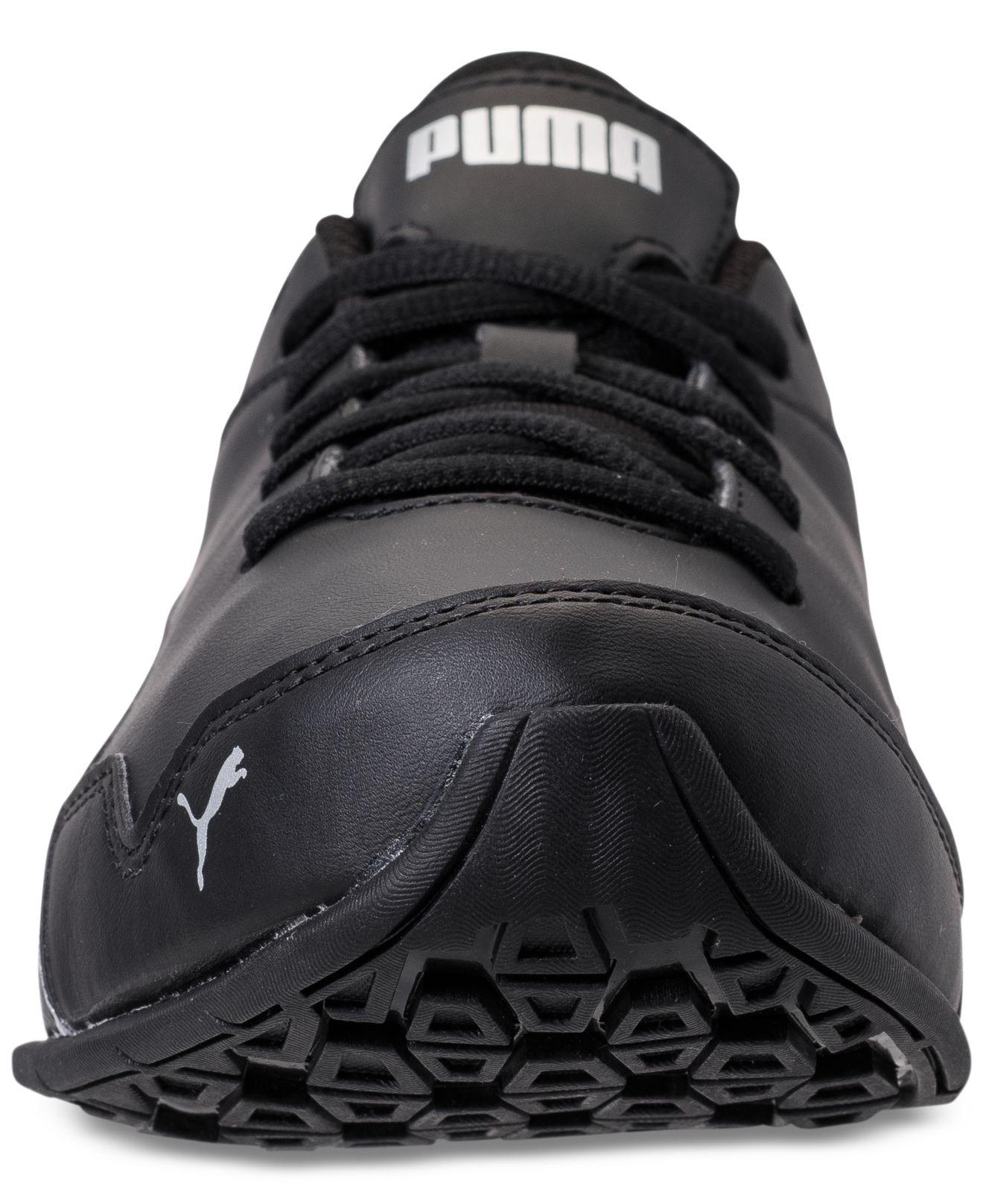 buy online e6750 2a6ce ... Shoes Finish Line PUMA Black Mens Super Levitate Running Sneakers From  Finish Line for Men Lyst.