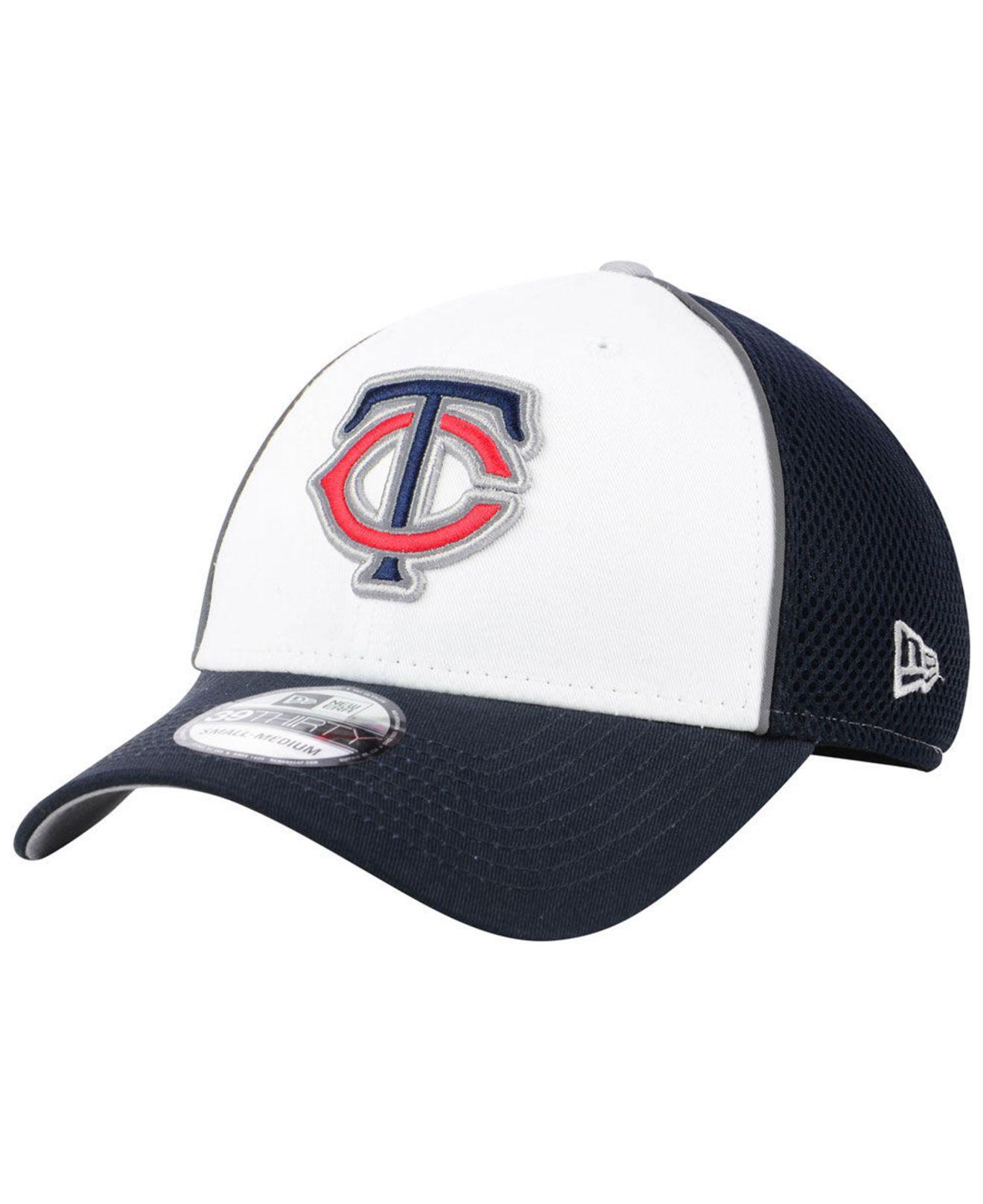 on sale 8d101 57a9b Lyst - KTZ Minnesota Twins Pop Reflective 39thirty Cap in Blue for Men