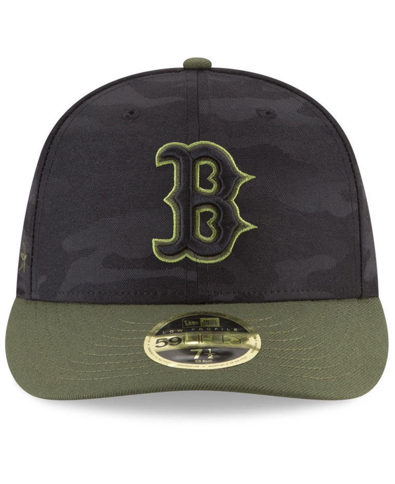 newest 9d20d eaacd ... netherlands lyst ktz boston red sox memorial day low profile 59fifty  fitted cap in green for