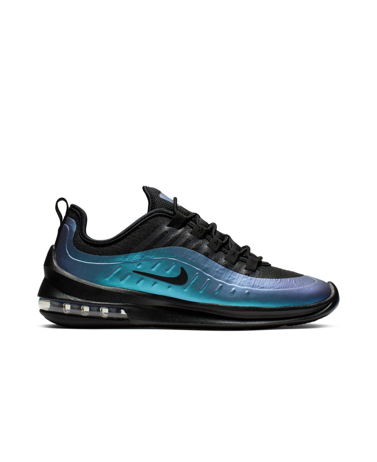 huge selection of c5a35 27fe1 Nike Air Max Axis Premium Casual Sneakers From Finish Line in Black for Men  - Lyst