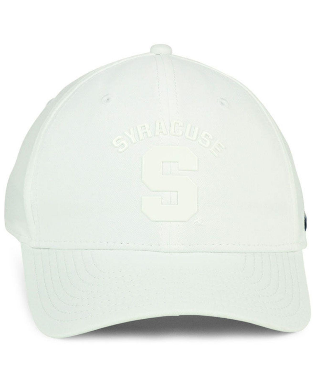 detailed look 0903d 2af67 cheapest nike syracuse orange col cap sports fan shop by lids men macys  d5a52 b9b70  usa lyst nike syracuse orange col cap in white for men 2ad3d  70649