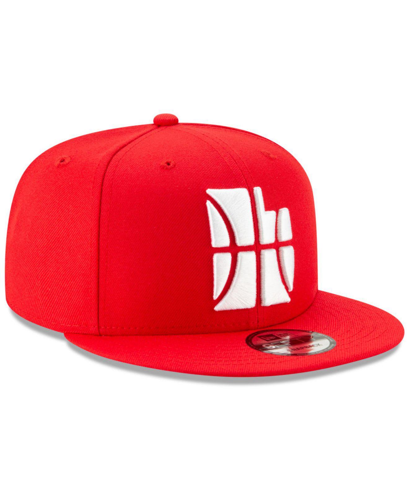 the best attitude 2b327 59bb9 KTZ Utah Jazz City Series 2.0 9fifty Snapback Cap in Red for Men - Lyst