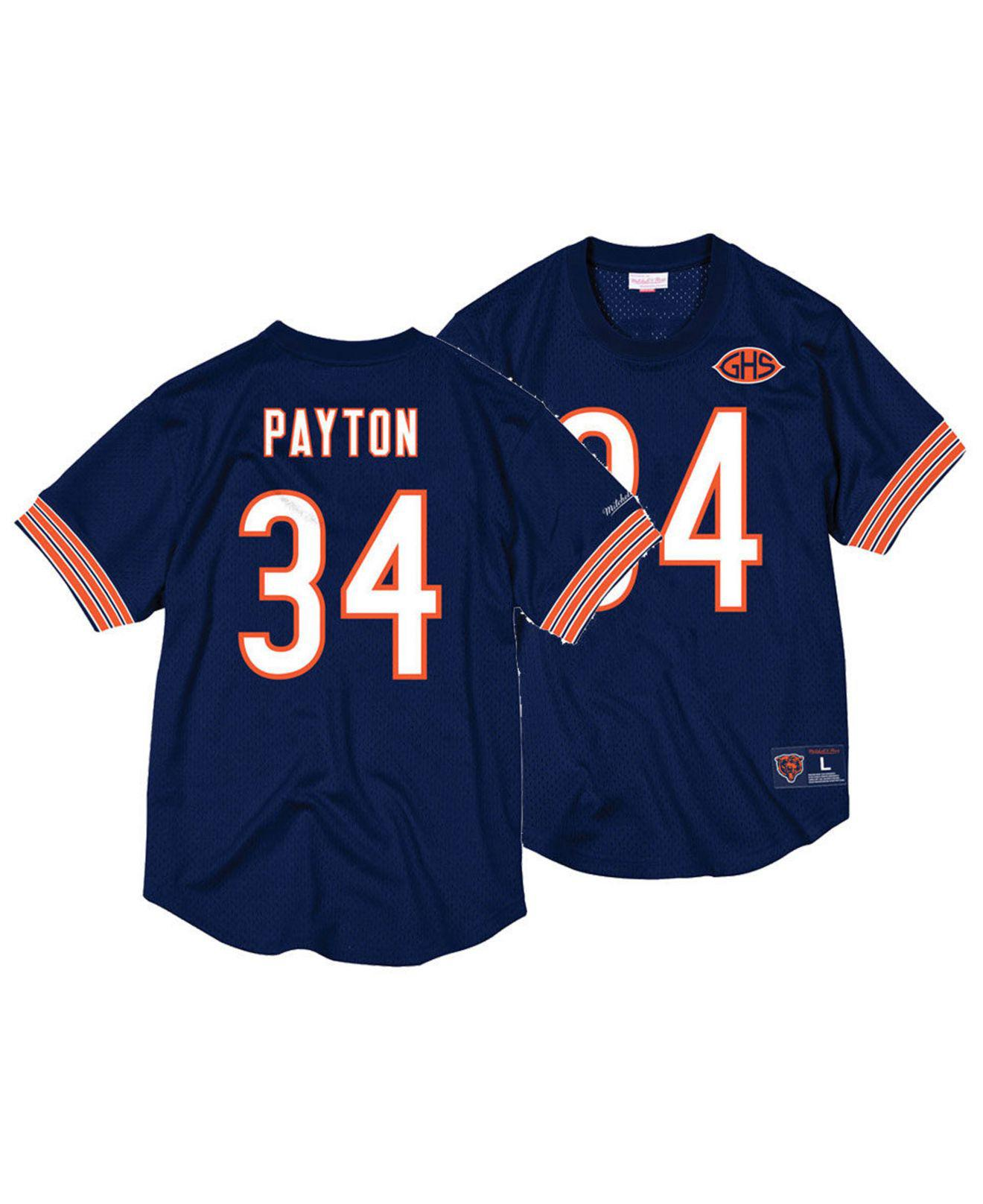b0874e15 Tap to visit site. Mitchell & Ness - Blue Walter Payton Chicago Bears ...