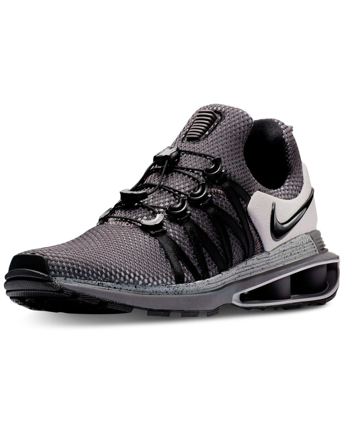 500795d7e780 Lyst - Nike Shox Gravity Casual Sneakers From Finish Line in Black ...
