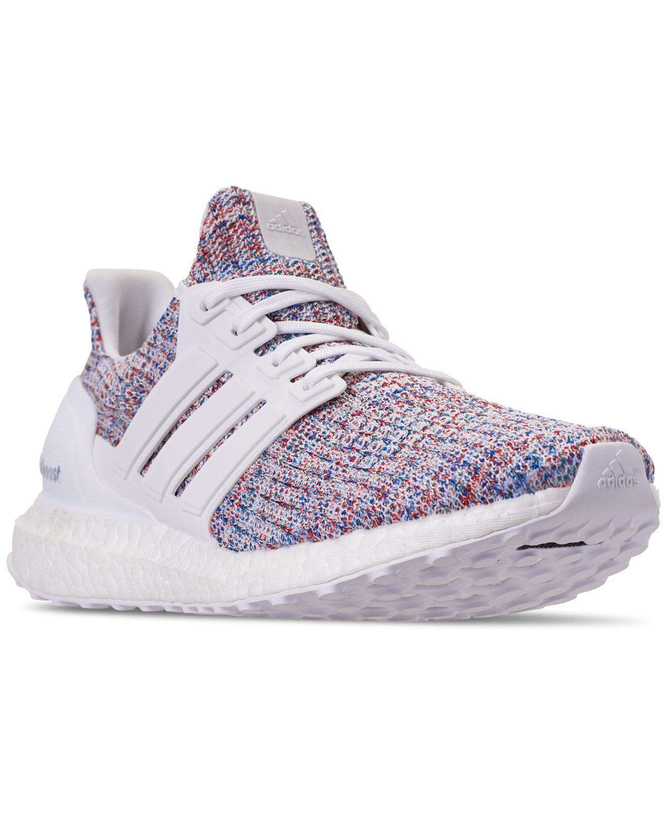 f9a060cb7e7 Lyst - adidas Men s Ultraboost Running Sneakers in White for Men ...