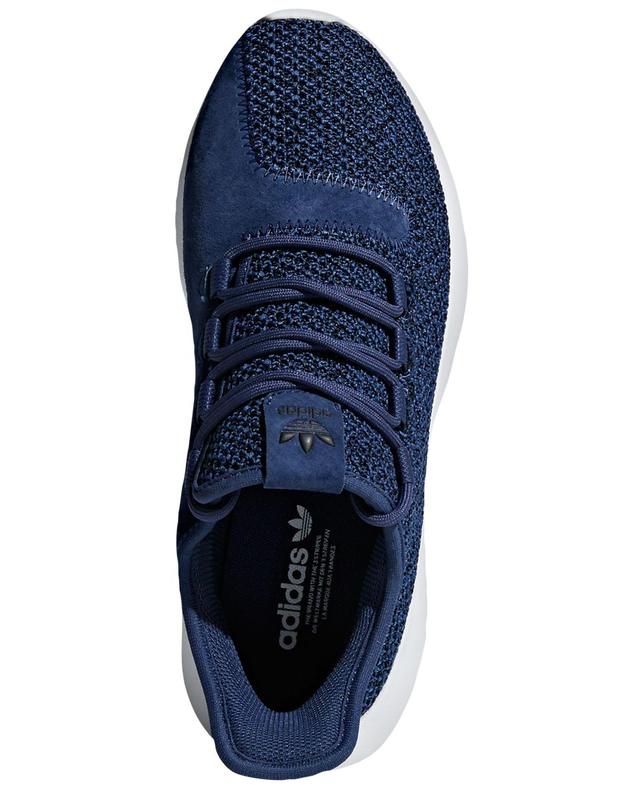 Lyst - Adidas Tubular Shadow Casual Sneakers From Finish Line in Blue 1b97db5532f9