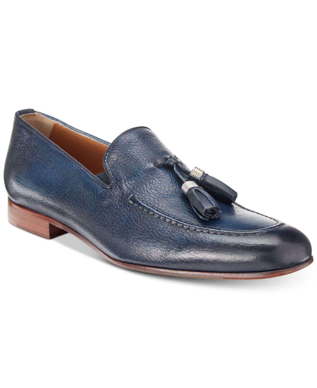 Donovan Italian Leather Tassel Loafer Kenneth Cole 9K3coS
