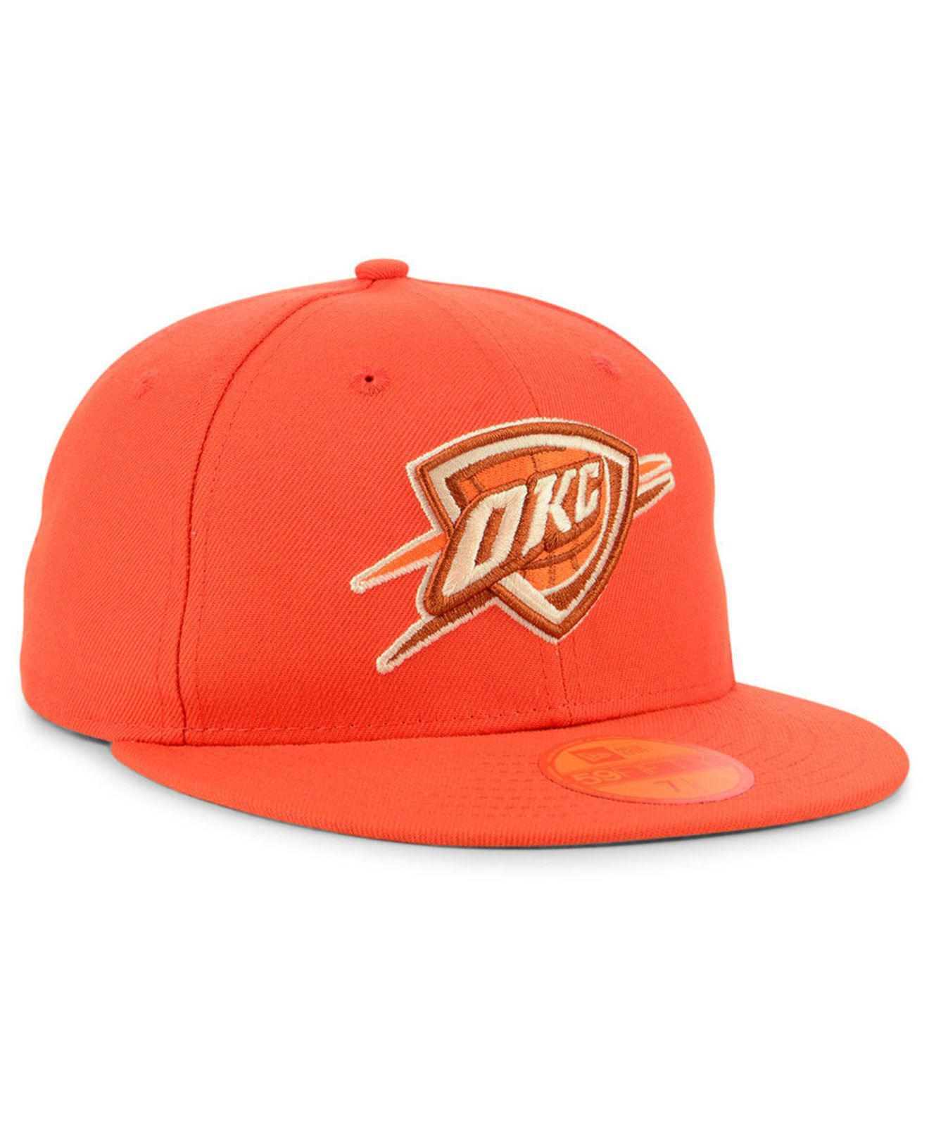 meet 22dd8 db8e2 ... reduced lyst ktz oklahoma city thunder color prism pack 59fifty fitted  cap 1f924 6ff51