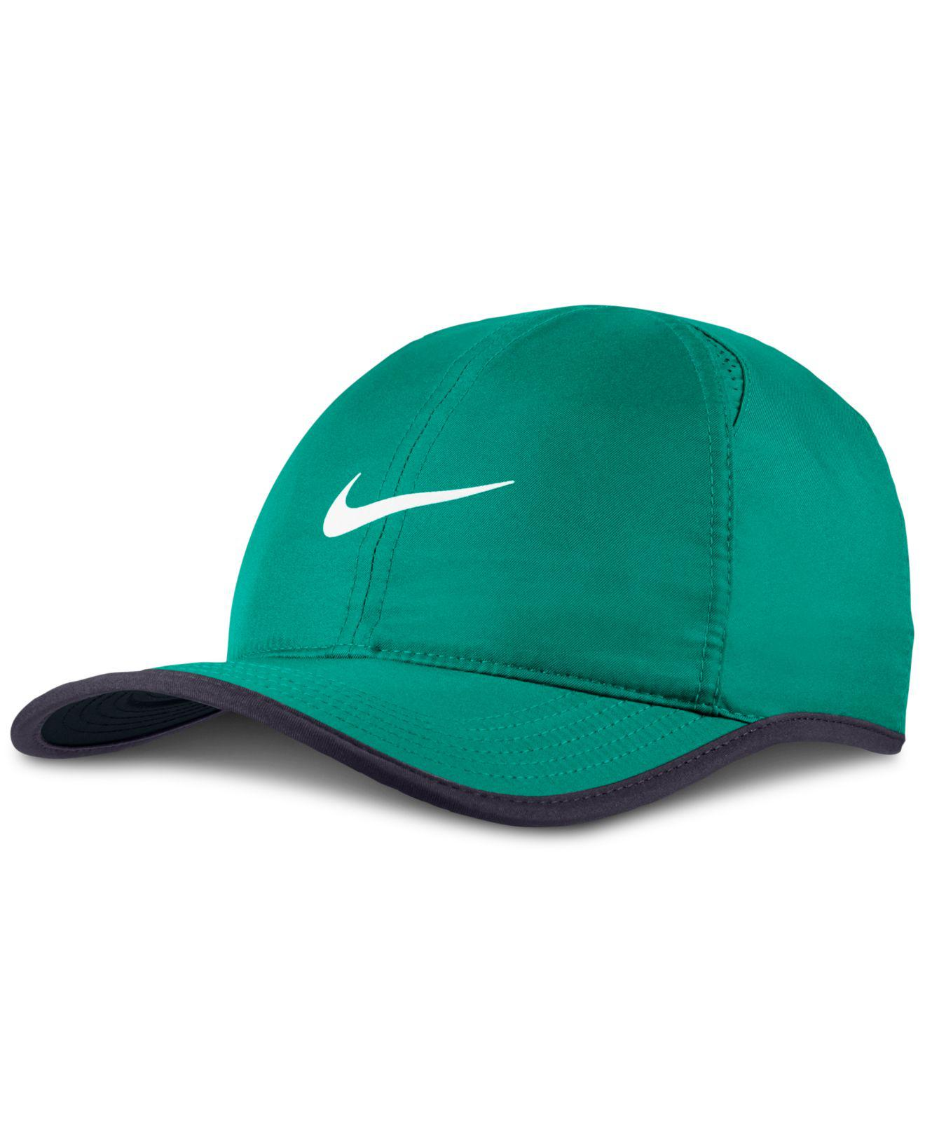 3ac2b2f3d94 Lyst - Nike Featherlight Cap in Green for Men