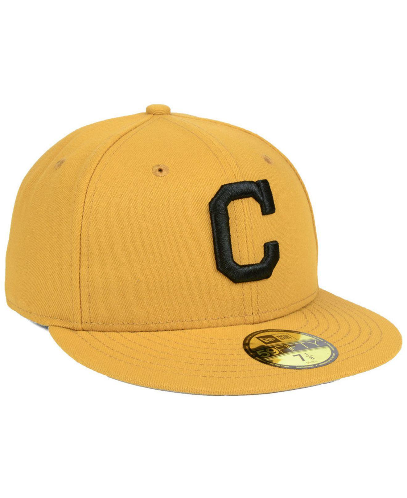 new style 613c6 46887 ... new era mlb 6e376 7c66a 17ee0 91c29  where to buy cleveland indians reverse  c dub 59fifty fitted cap for men lyst. view
