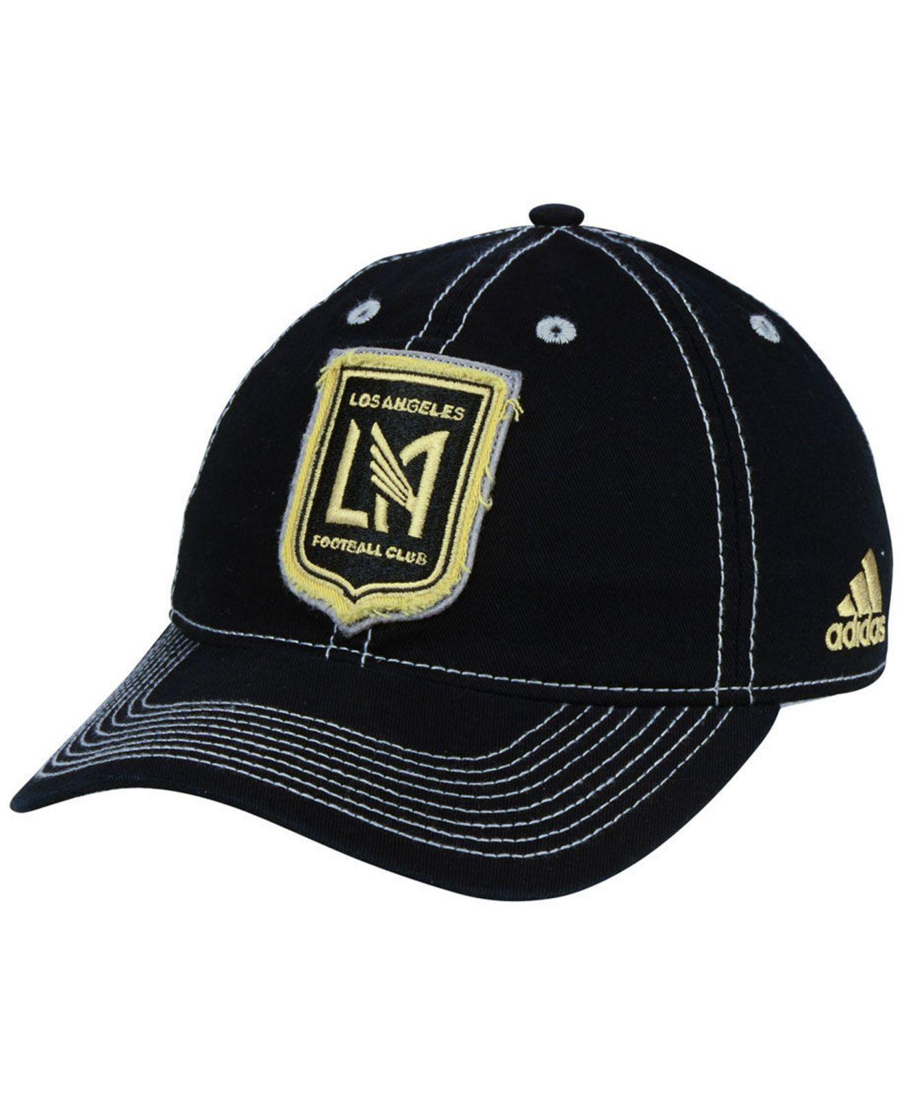 cheap for discount 541e1 efddf ... snapback hat 5d535 f42a7  wholesale adidas. mens black los angeles  football club sand blast adjustable cap b2d4e ce1cf