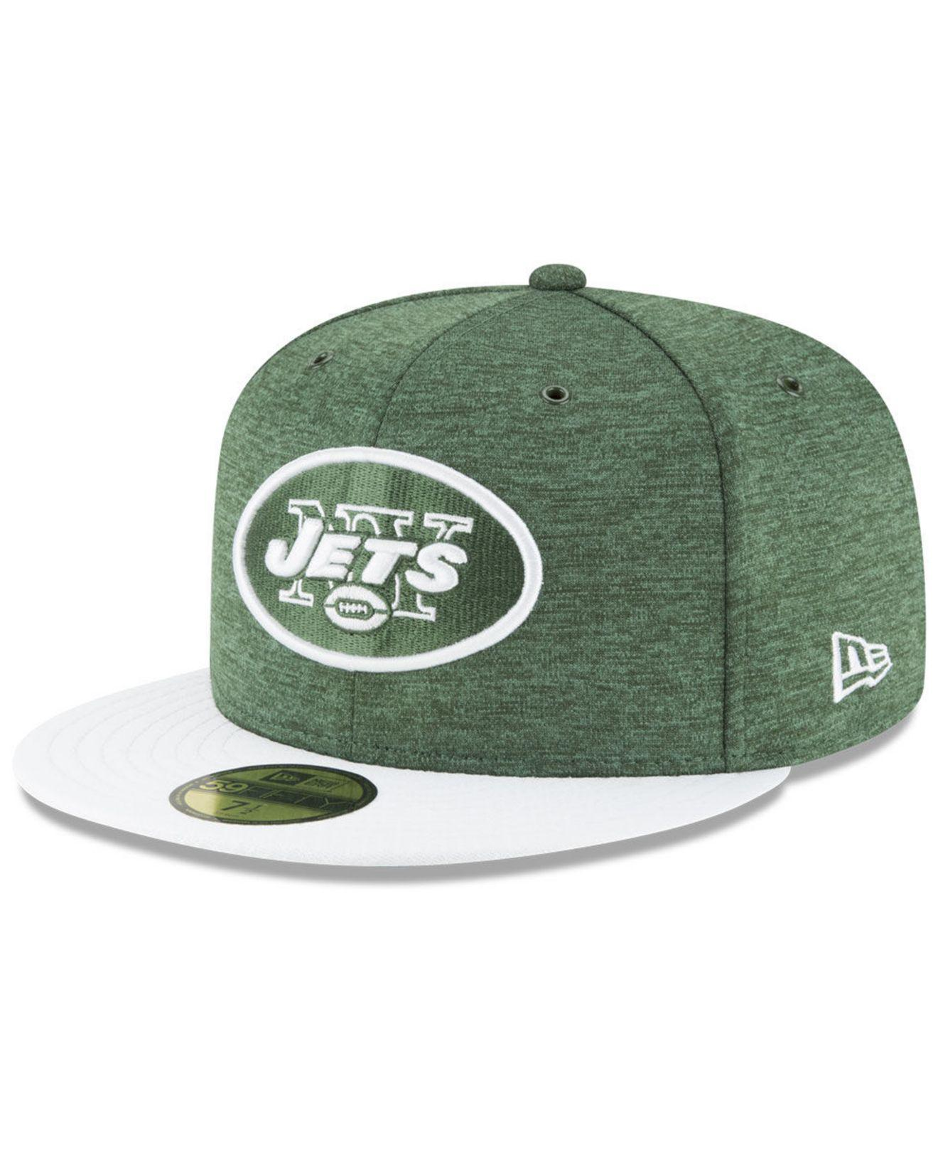 2164d301f Lyst - KTZ New York Jets On Field Sideline Home 59fifty Fitted Cap ...