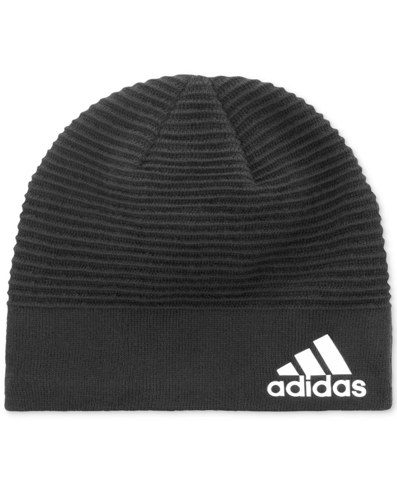 Lyst - adidas Creator Climalite® Climawarm® Beanie in Black for Men bb2d39536