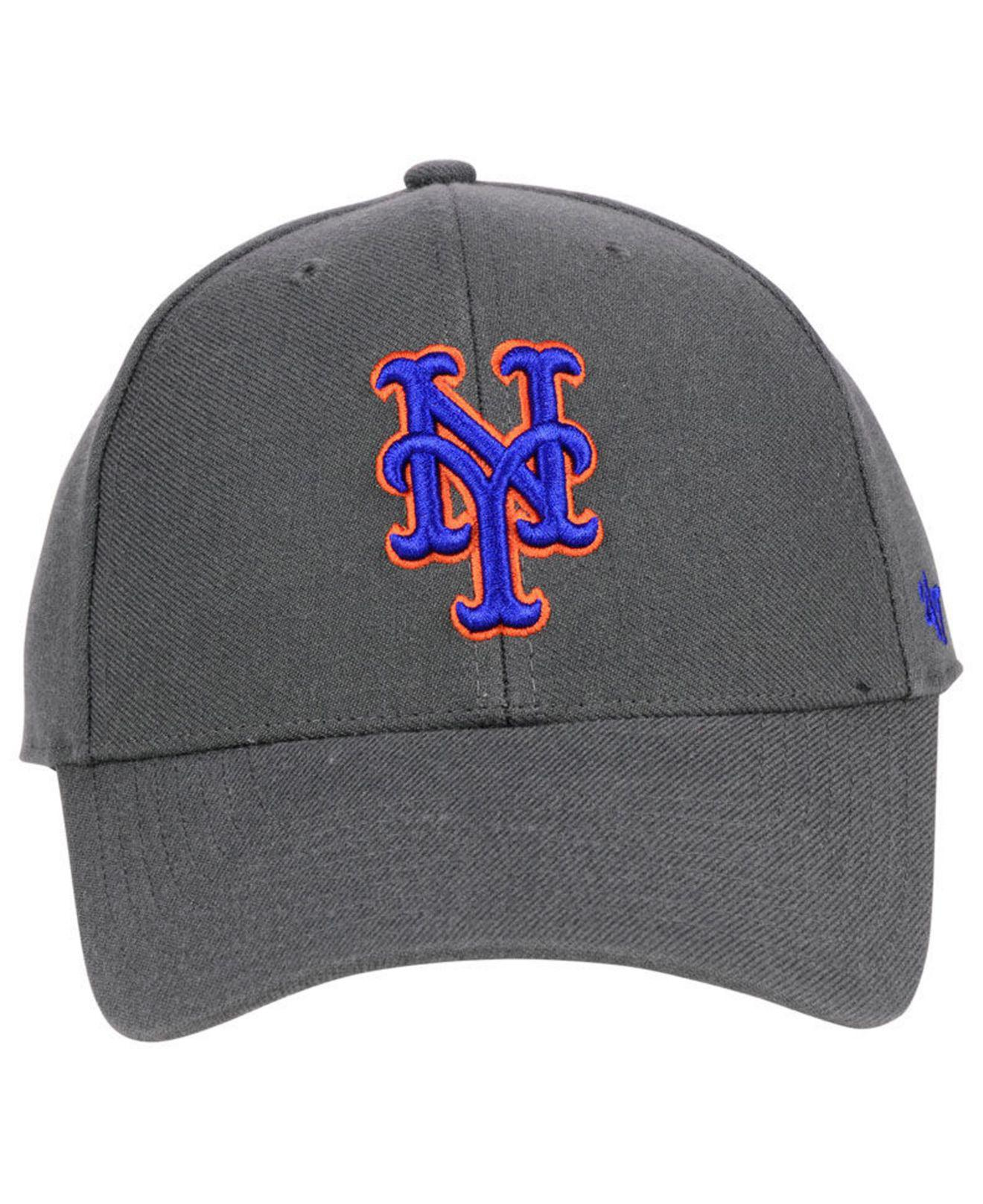 new product a8bae 1335a ... switzerland lyst 47 brand new york mets charcoal mvp cap in gray for men  f8750 99fae