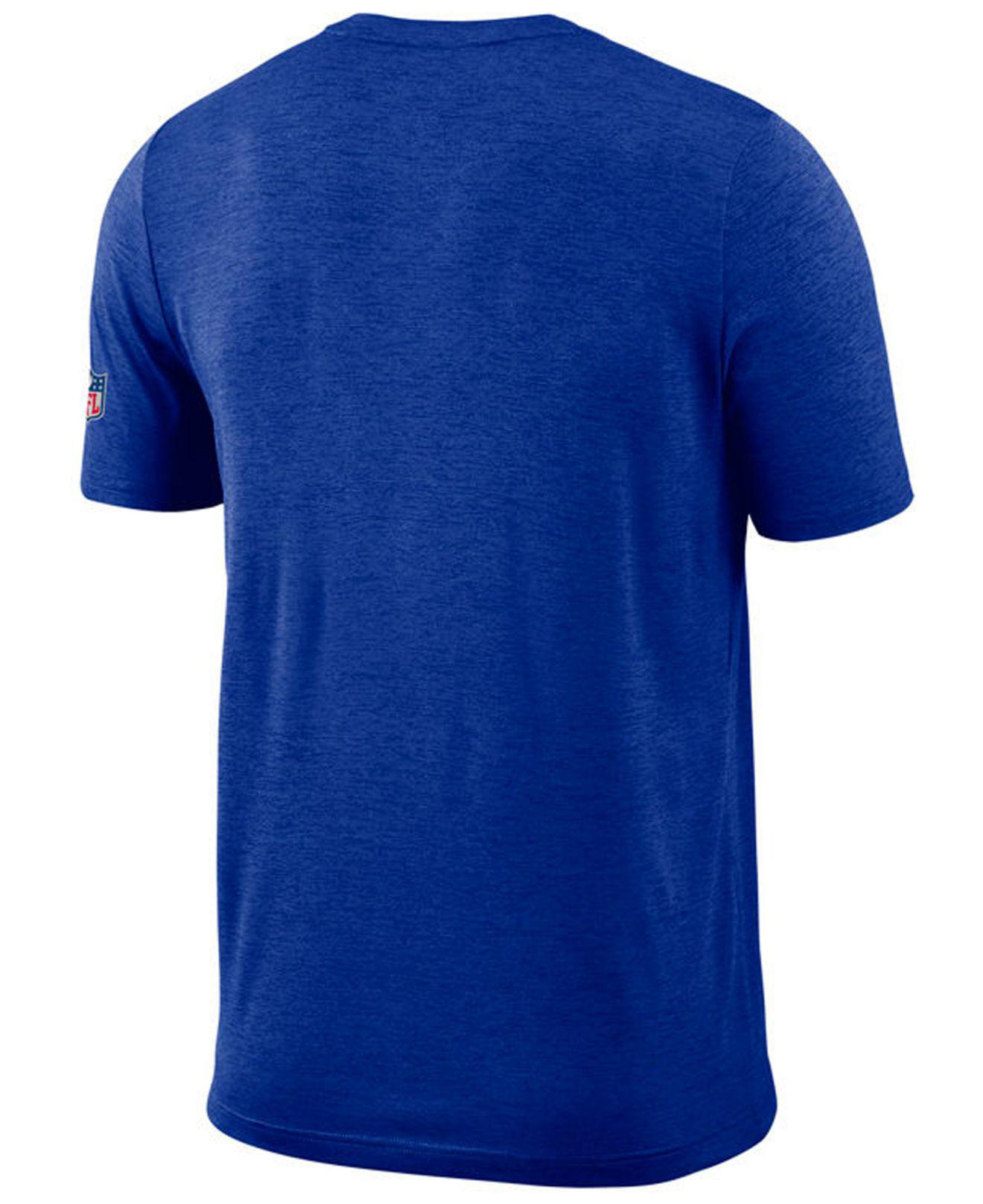 Lyst - Nike Los Angeles Rams Coaches T-shirt in Blue for Men 92002f089