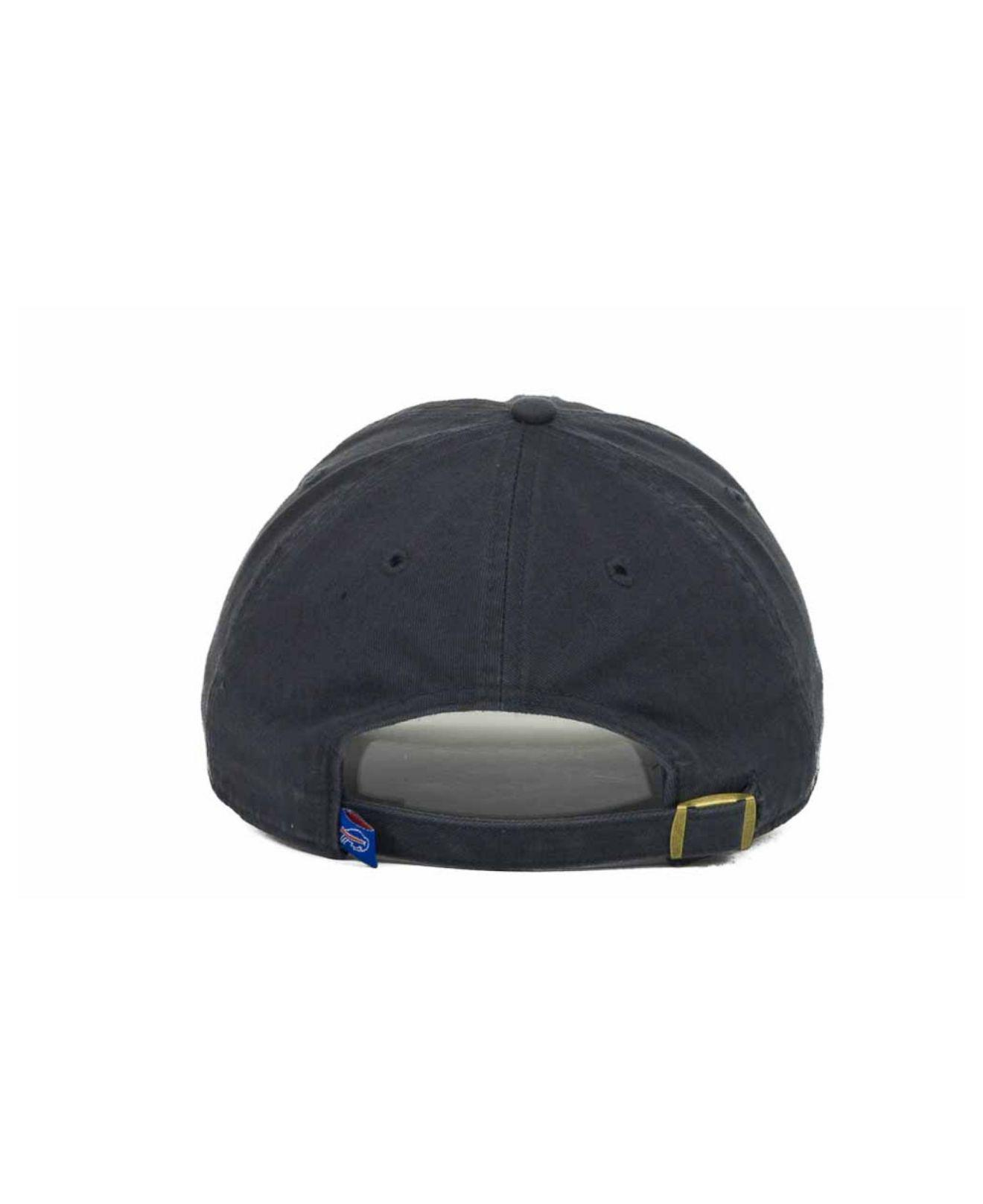 3fe8679c3d4 ... inexpensive lyst 47 brand buffalo bills clean up cap in blue for men  64316 47347