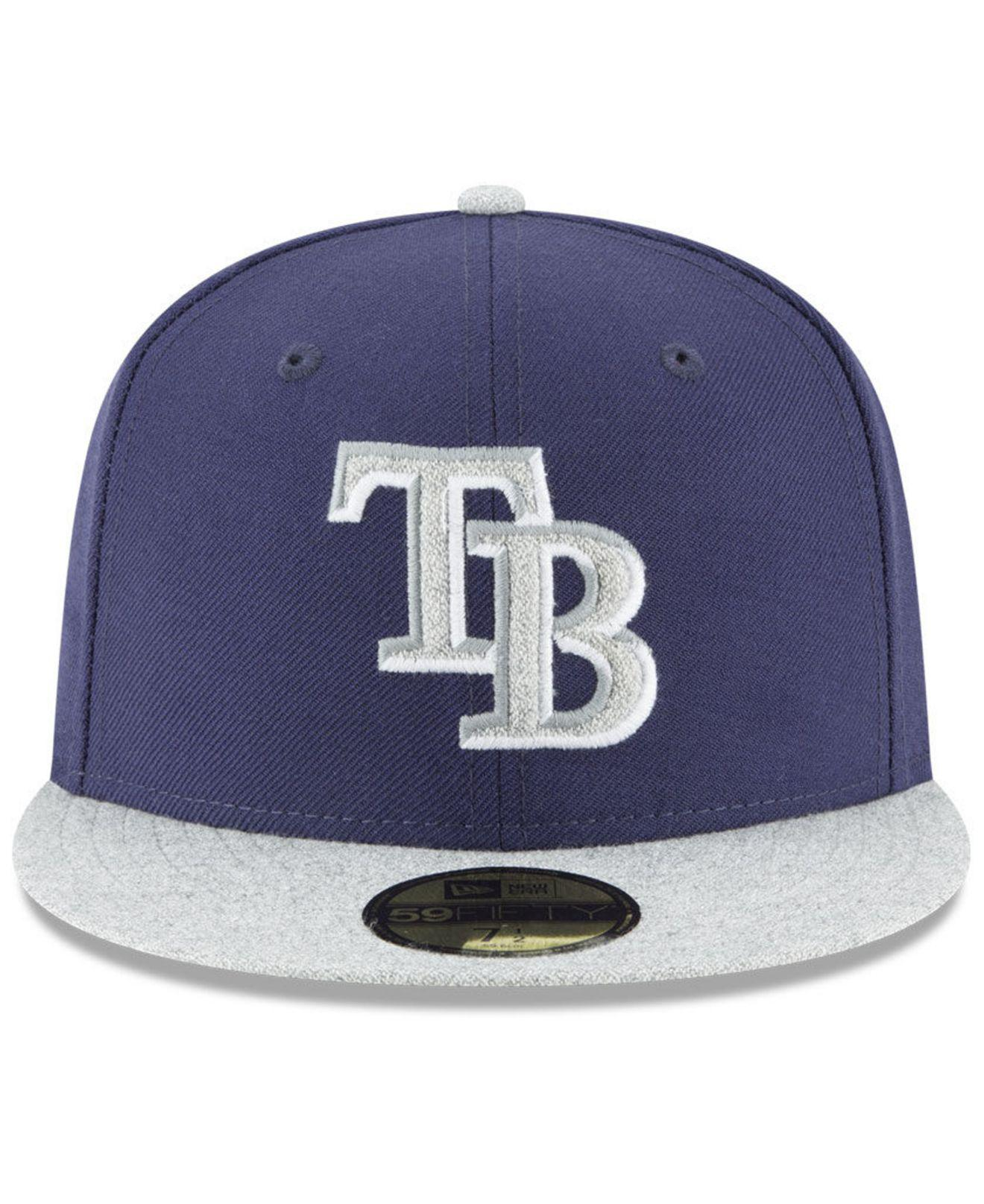 new product 8435a 9f5fe Lyst - KTZ Tampa Bay Rays Pop Color 59fifty Fitted Cap in Blue for Men