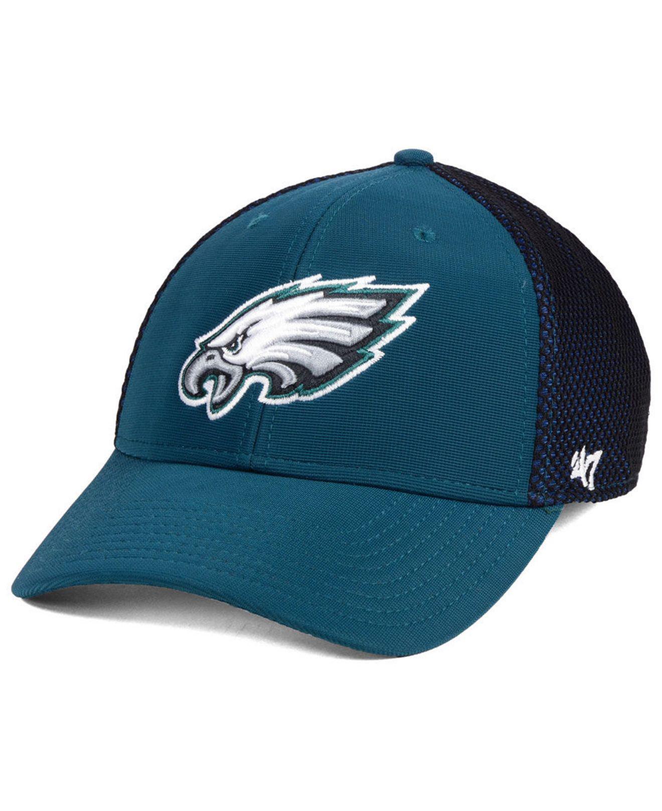 the latest 5b51b 4719f ... italy 47 brand. mens blue philadelphia eagles comfort contender flex cap  6a191 c643f