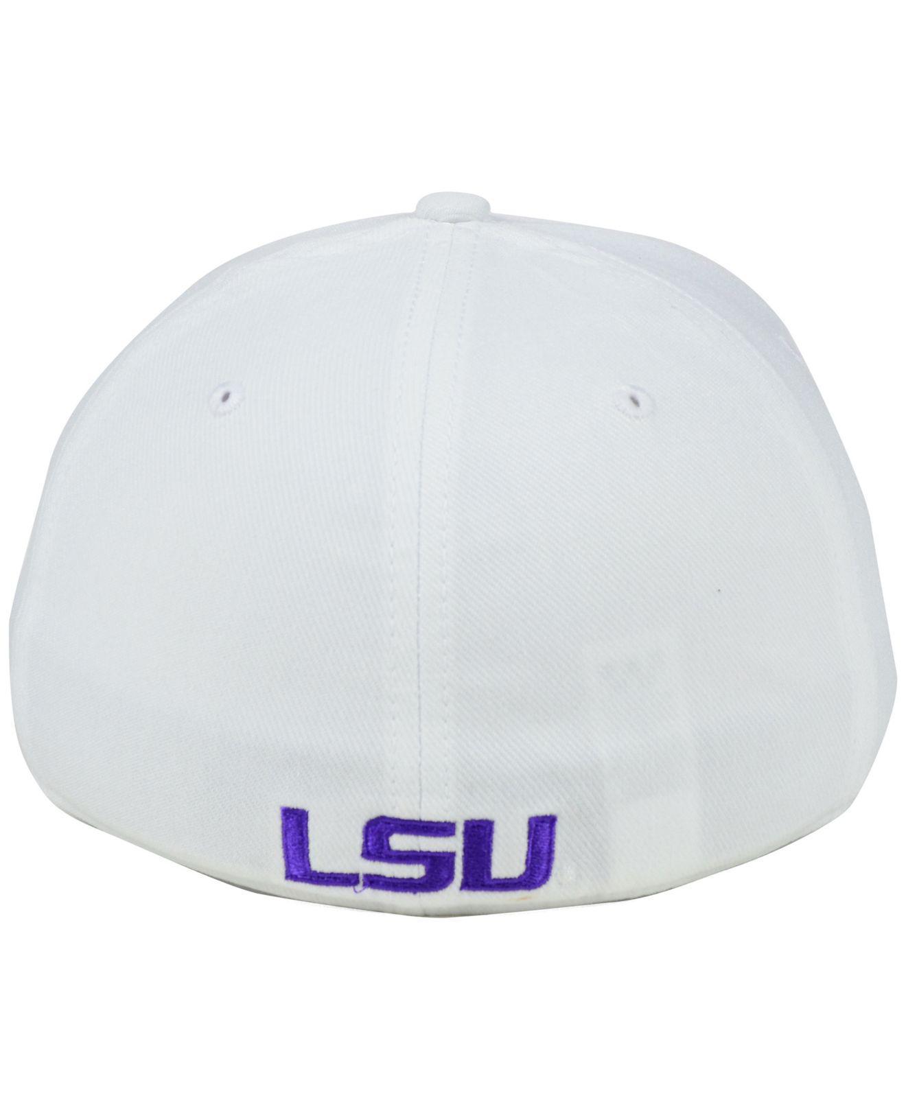 08af7cd5 Nike - White Lsu Tigers Classic Swoosh Cap for Men - Lyst. View fullscreen