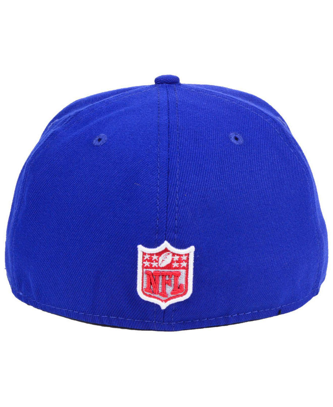 Lyst - Ktz New York Giants Team Basic 59fifty Fitted Cap in Blue for Men 27ab951a6