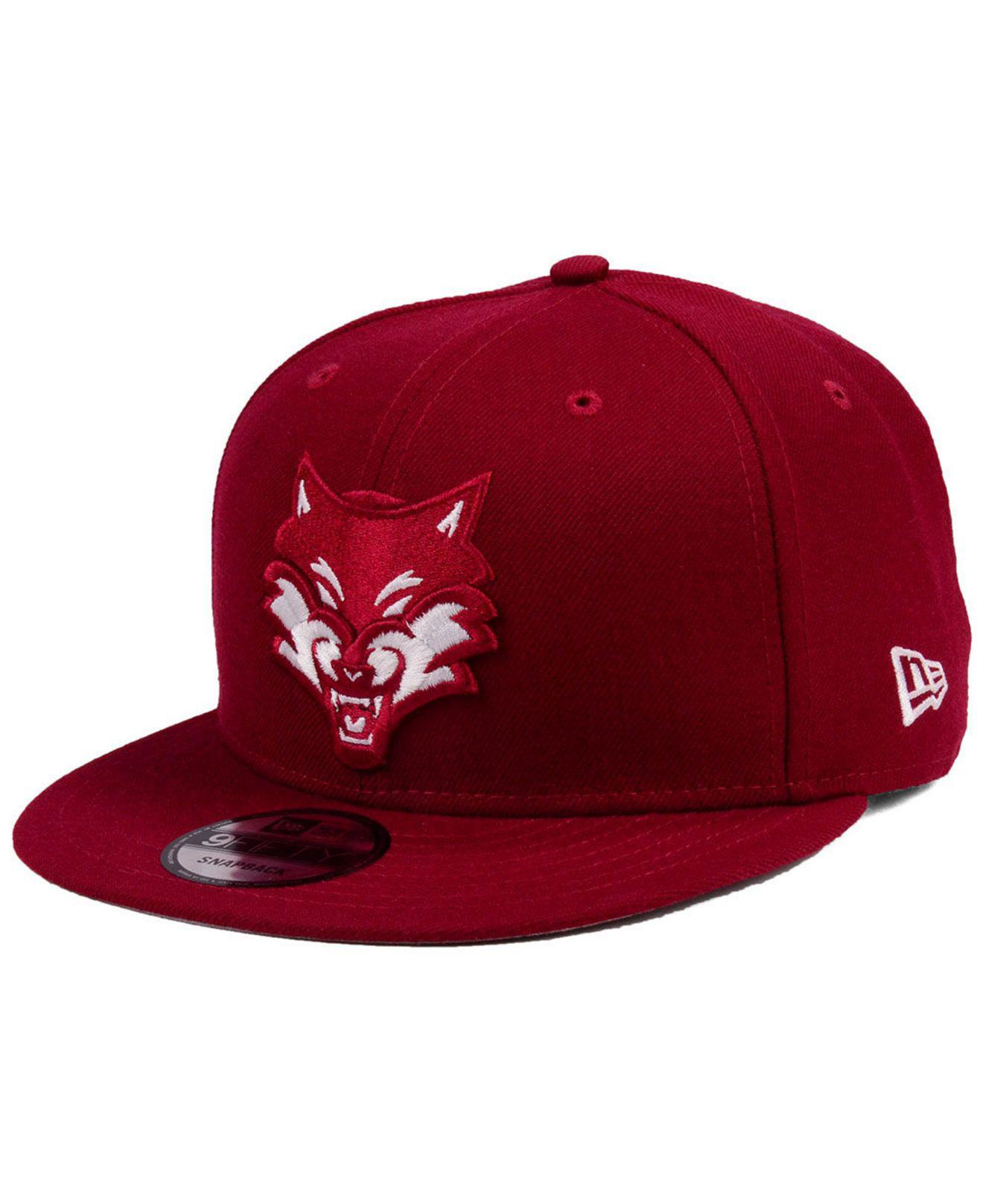 size 40 629ed 39670 KTZ Minnesota Timberwolves Fall Dubs 9fifty Snapback Cap in Red for ...